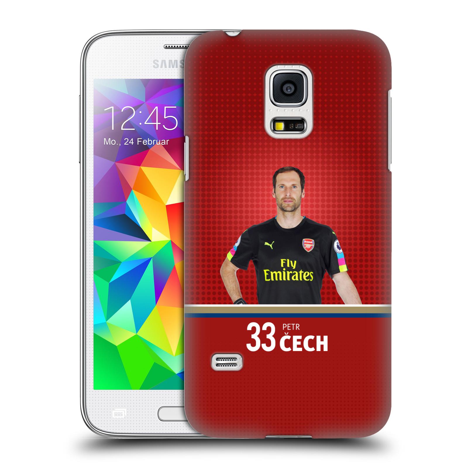 Plastové pouzdro na mobil Samsung Galaxy S5 Mini - Head Case - Arsenal FC - Petr Čech
