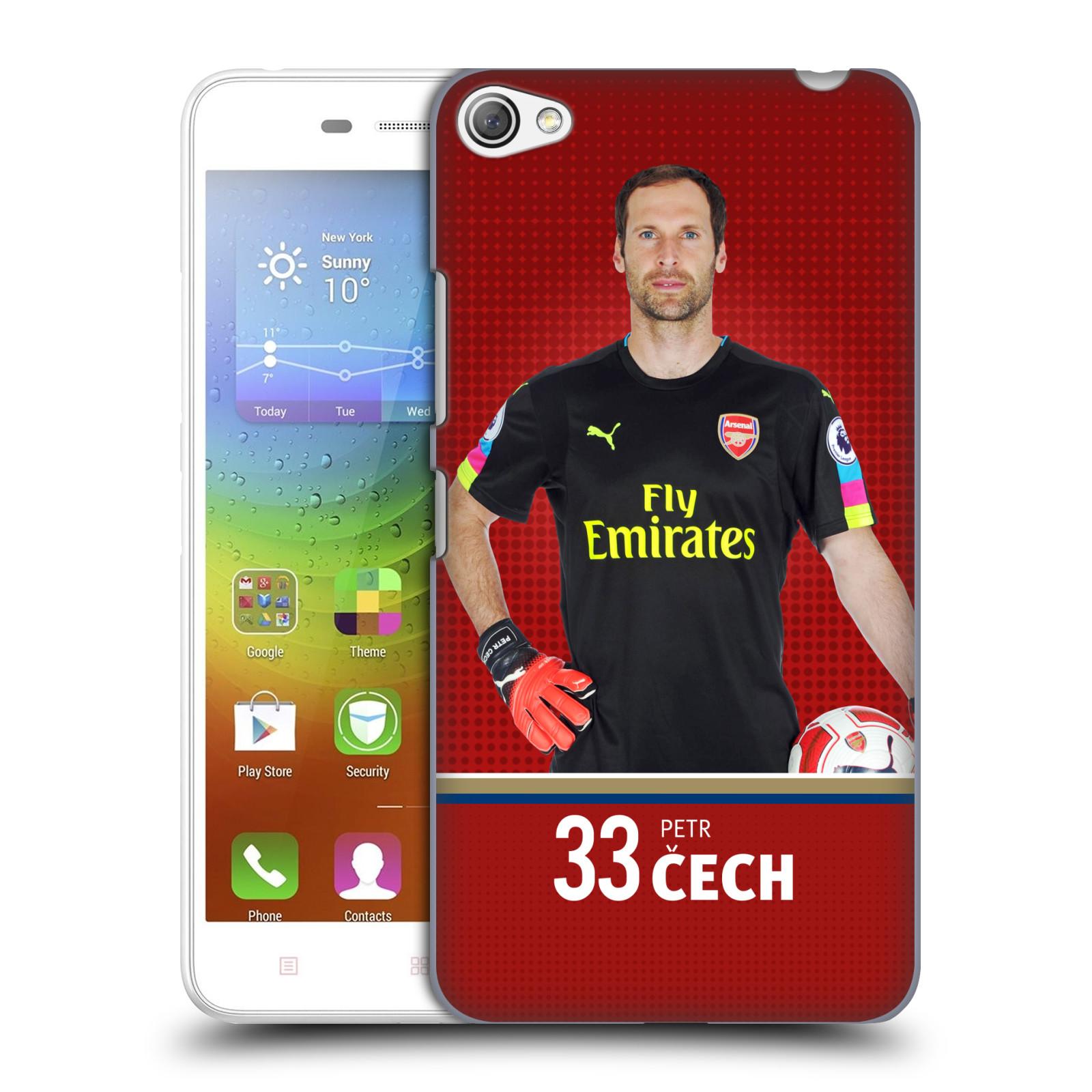 Plastové pouzdro na mobil Lenovo S60 - Head Case - Arsenal FC - Petr Čech