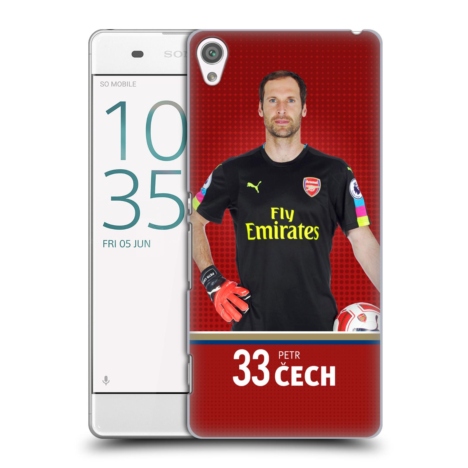 Plastové pouzdro na mobil Sony Xperia XA - Head Case - Arsenal FC - Petr Čech