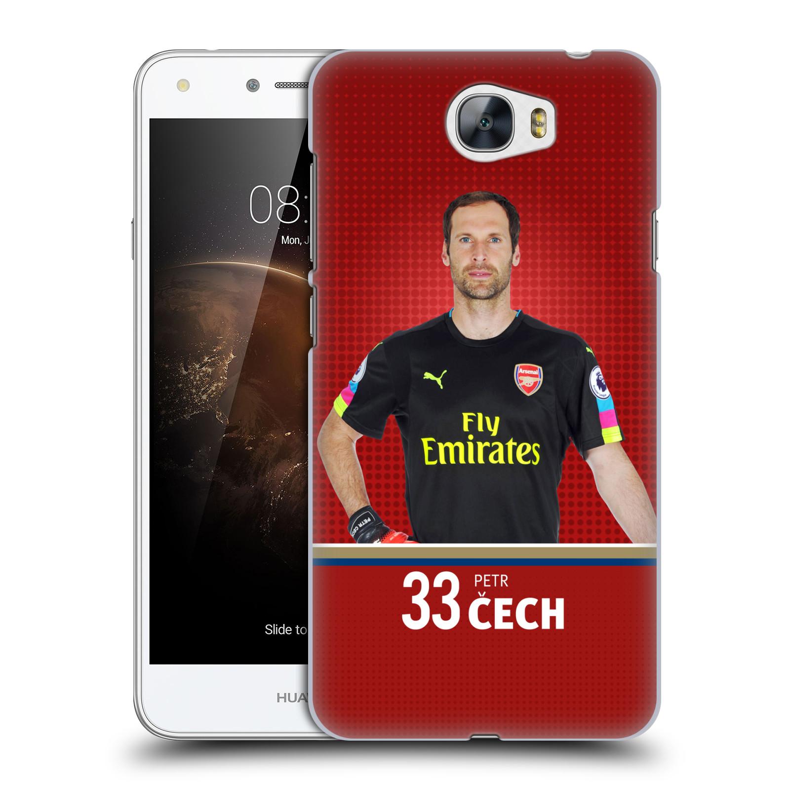 Plastové pouzdro na mobil Huawei Y5 II - Head Case - Arsenal FC - Petr Čech
