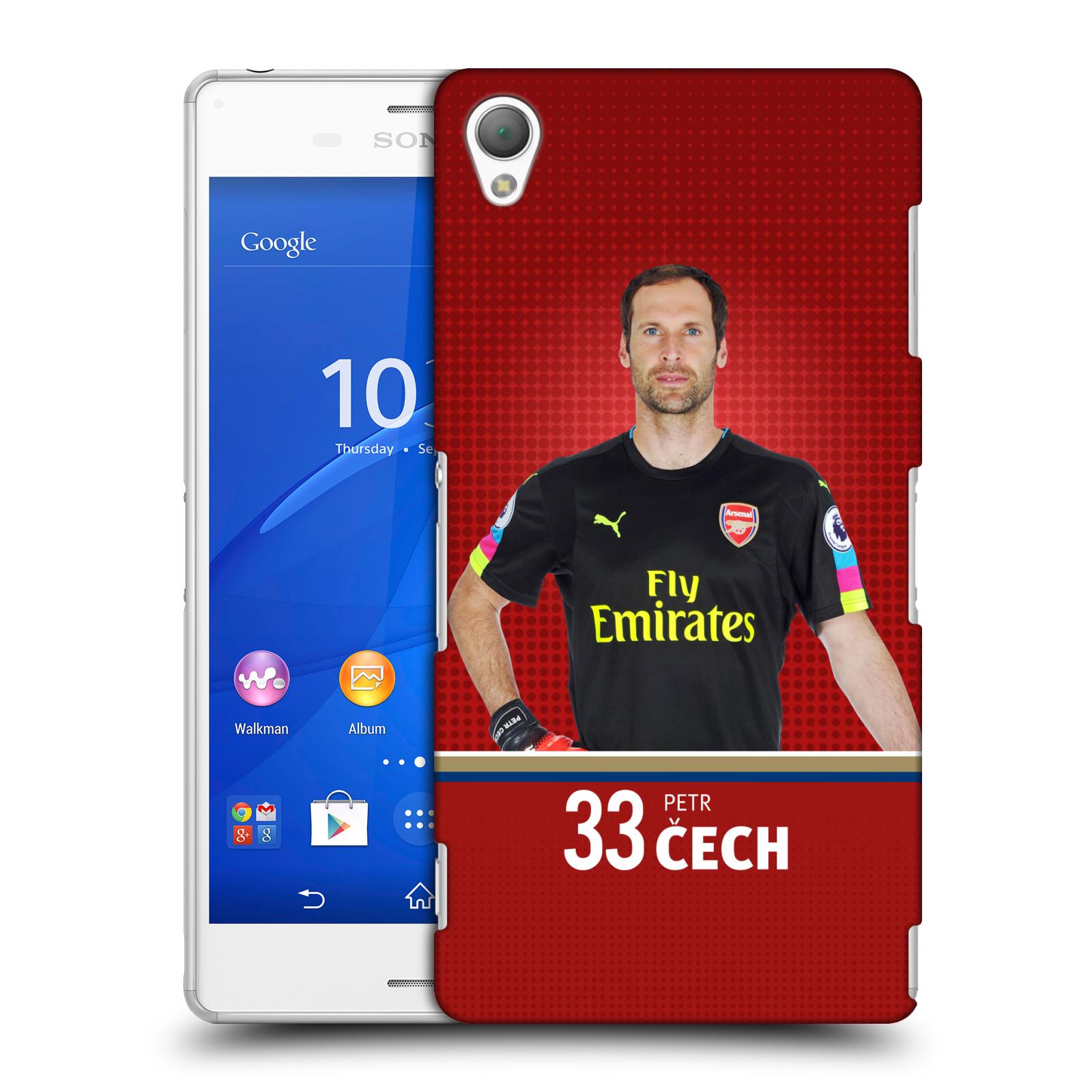 Plastové pouzdro na mobil Sony Xperia Z3 D6603 - Head Case - Arsenal FC - Petr Čech