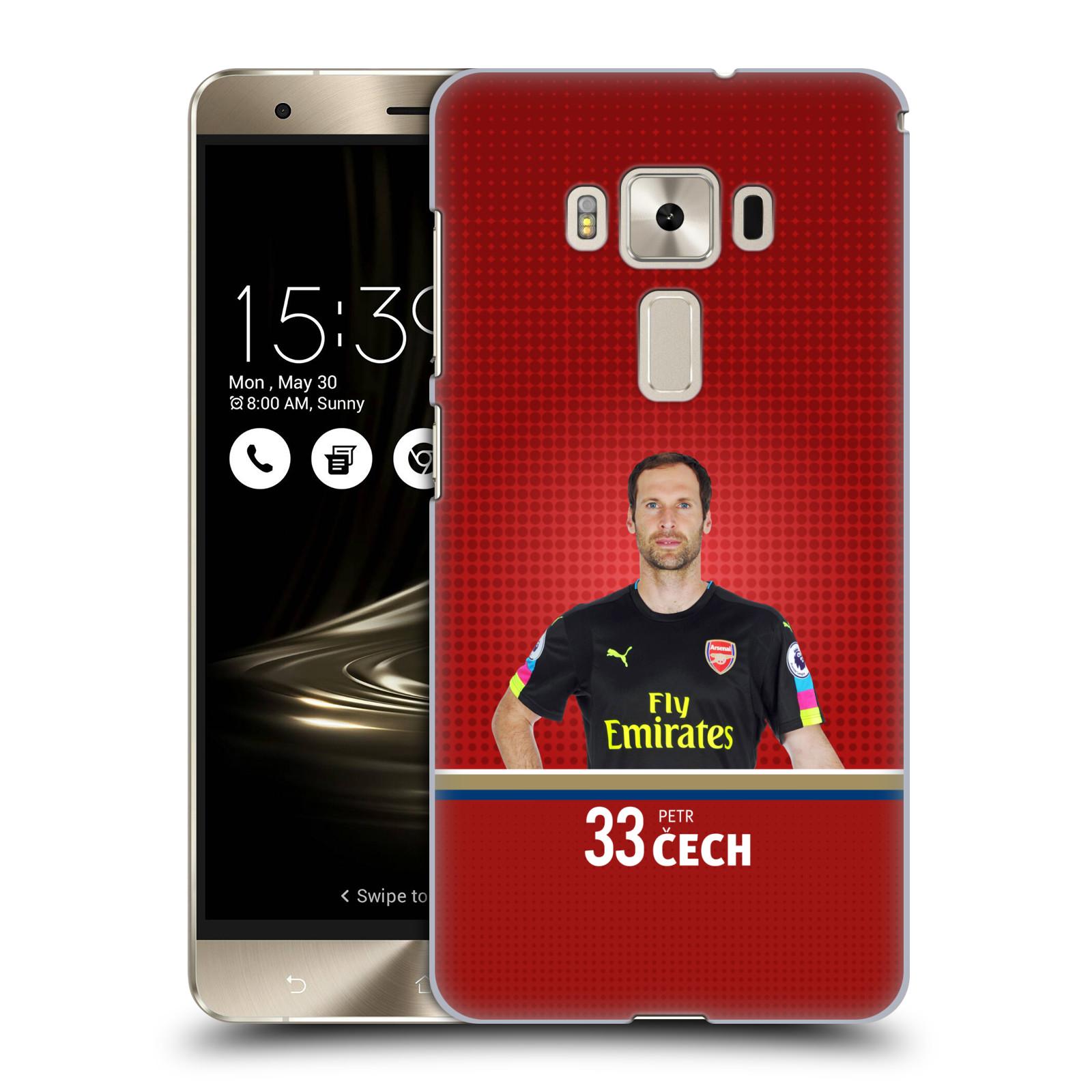 Plastové pouzdro na mobil Asus ZenFone 3 Deluxe ZS570KL - Head Case - Arsenal FC - Petr Čech
