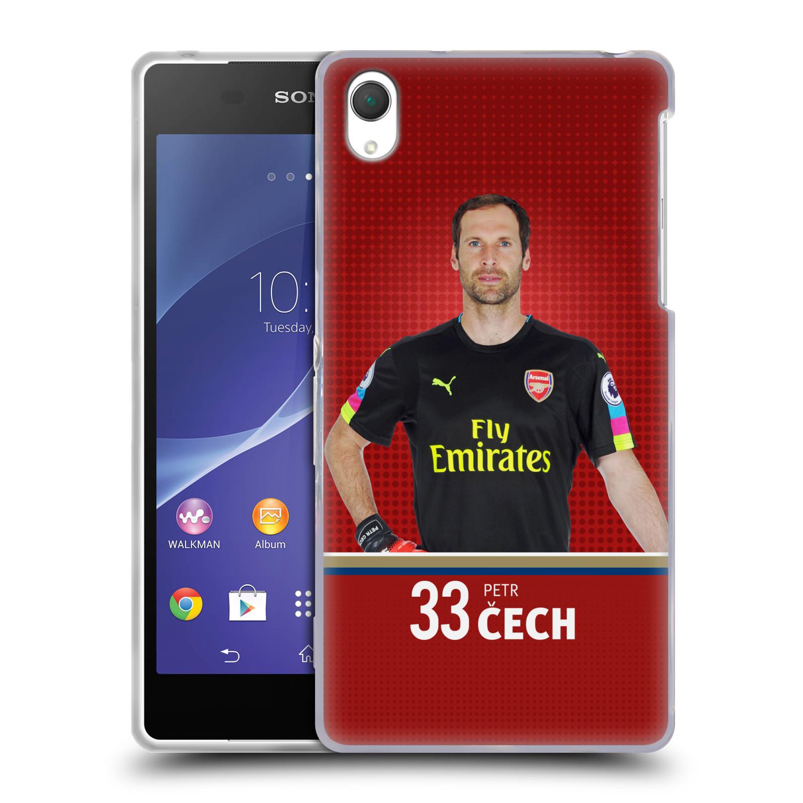 Silikonové pouzdro na mobil Sony Xperia Z2 D6503 - Head Case - Arsenal FC - Petr Čech
