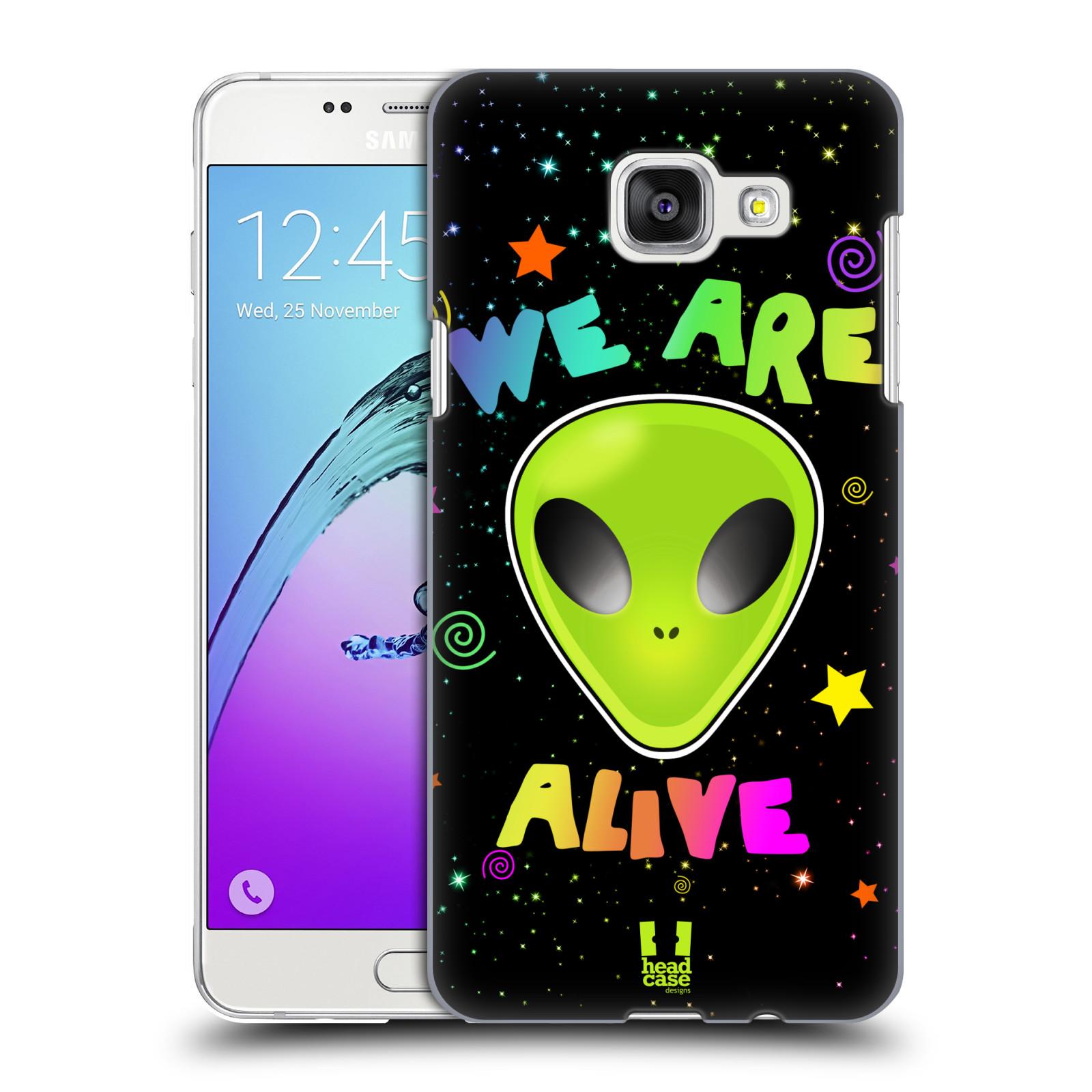 Plastové pouzdro na mobil Samsung Galaxy A5 (2016) HEAD CASE ALIENS ALIVE