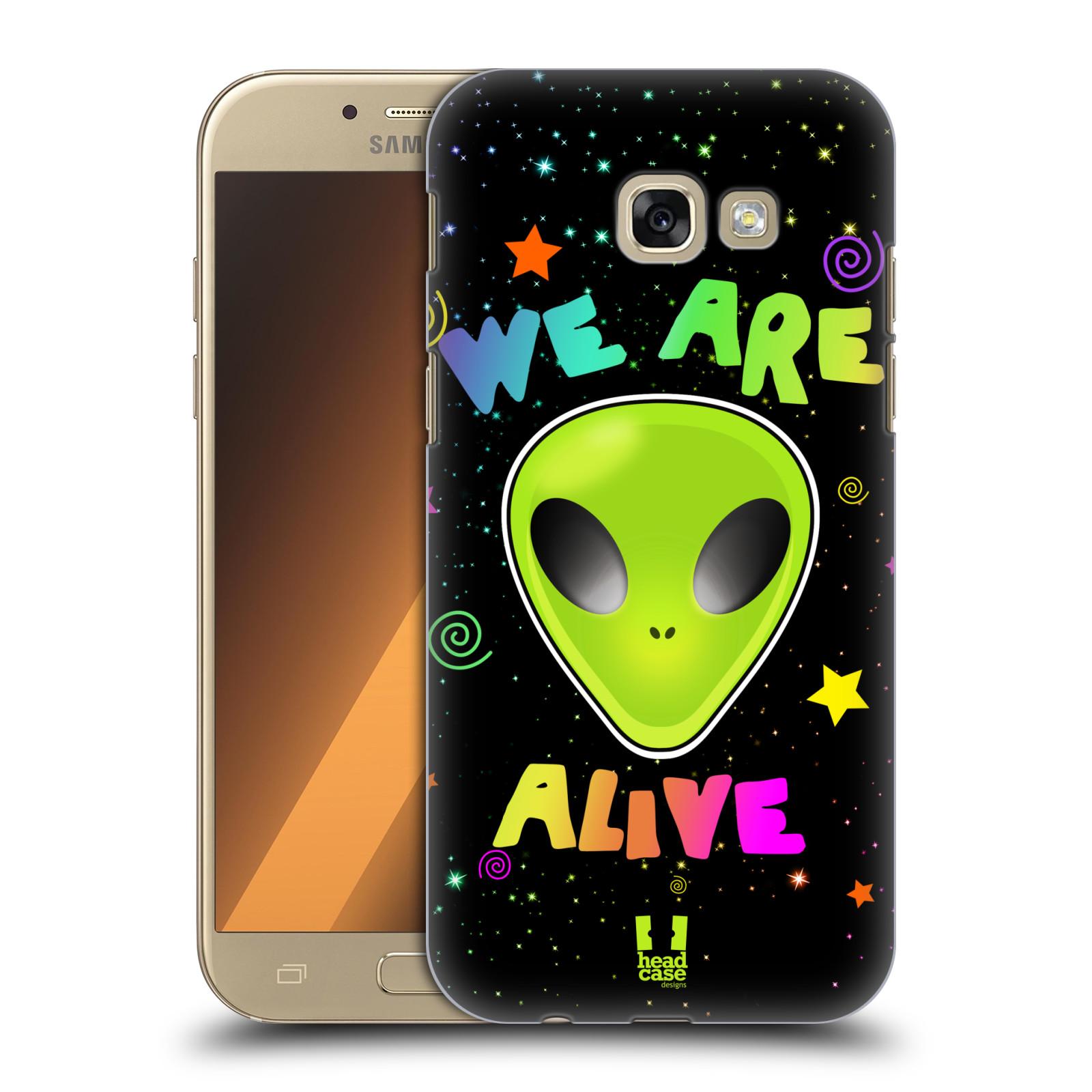 Plastové pouzdro na mobil Samsung Galaxy A5 (2017) HEAD CASE ALIENS ALIVE