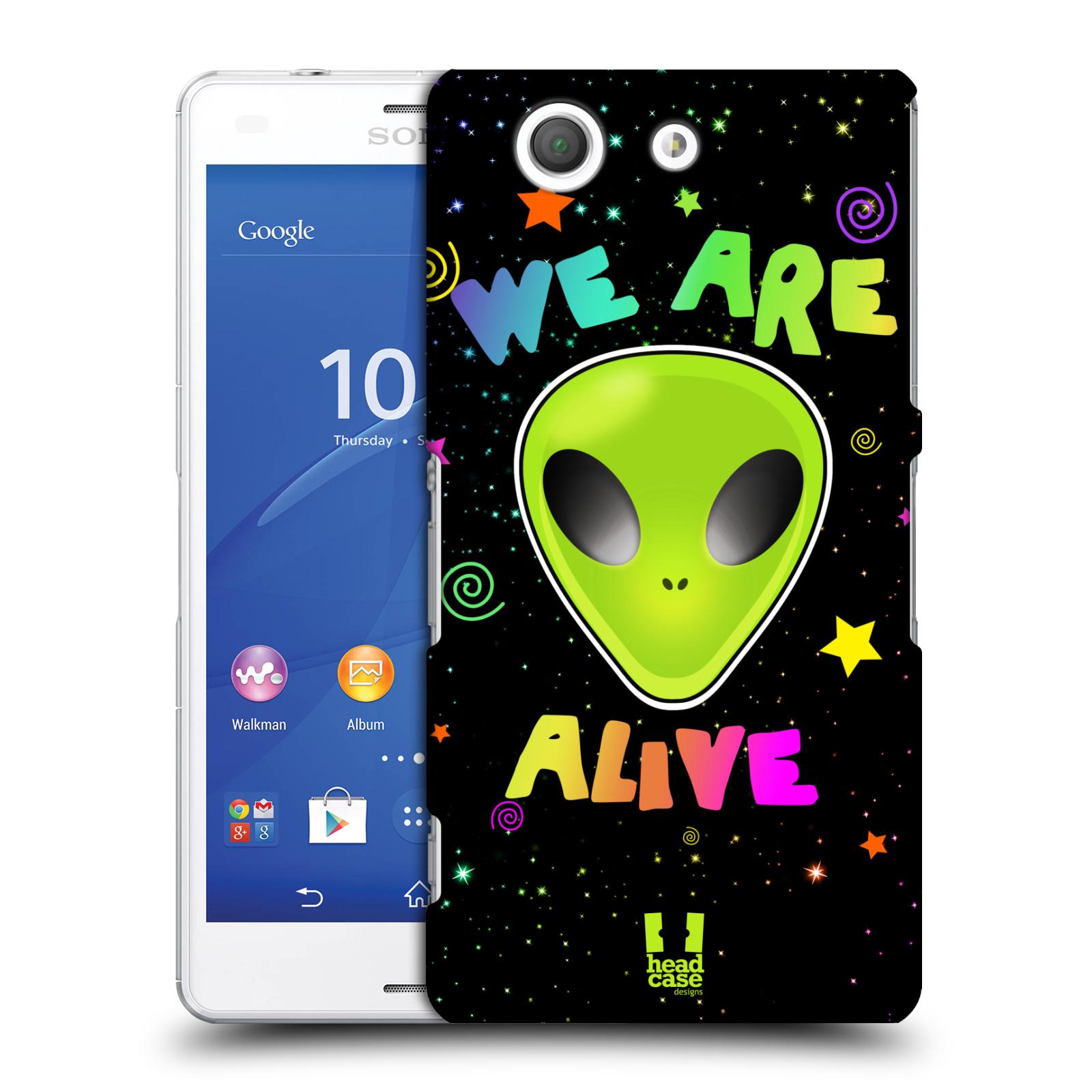 Plastové pouzdro na mobil Sony Xperia Z3 Compact D5803 HEAD CASE ALIENS ALIVE