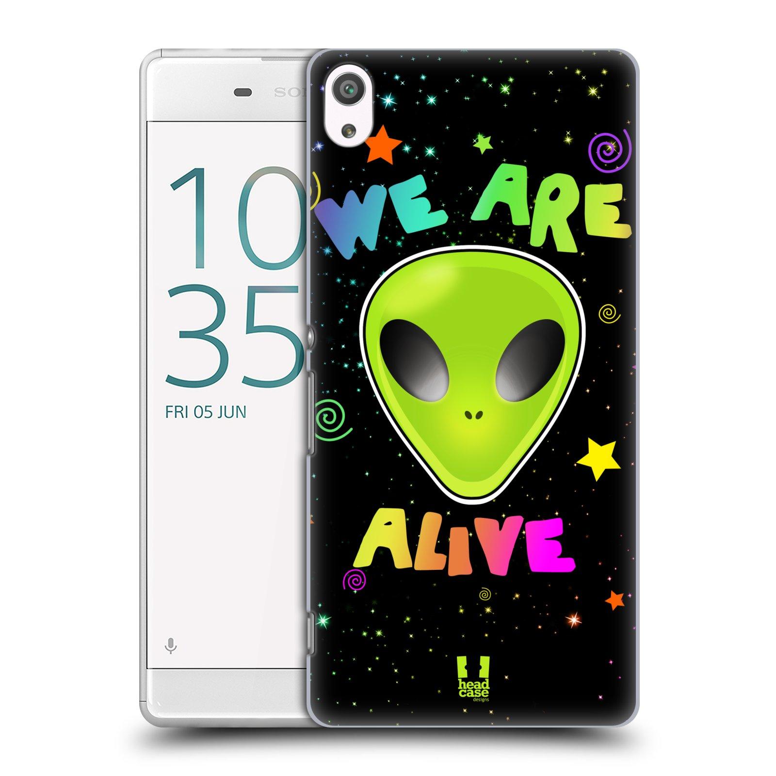 Plastové pouzdro na mobil Sony Xperia XA Ultra HEAD CASE ALIENS ALIVE