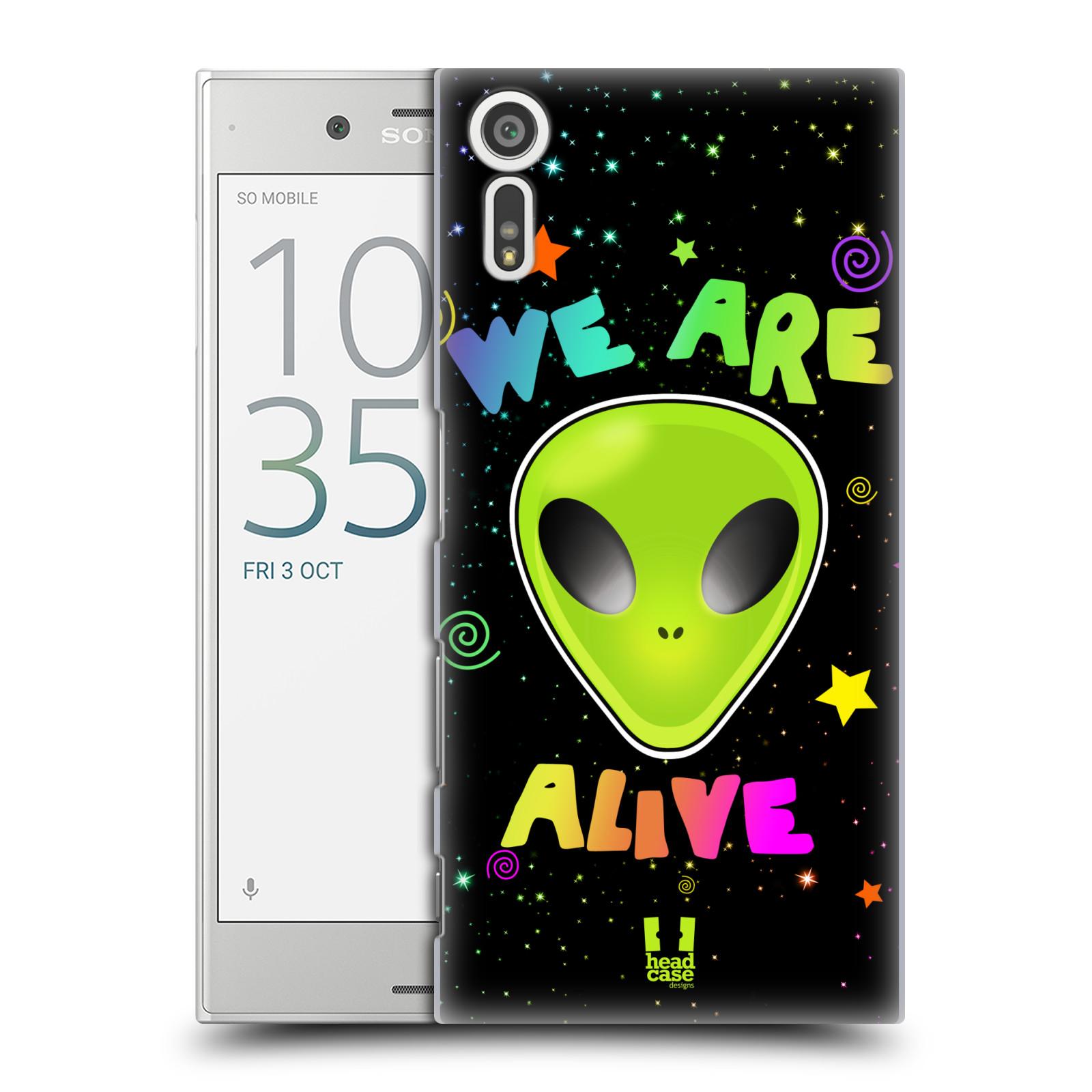 Plastové pouzdro na mobil Sony Xperia XZ - Head Case ALIENS ALIVE