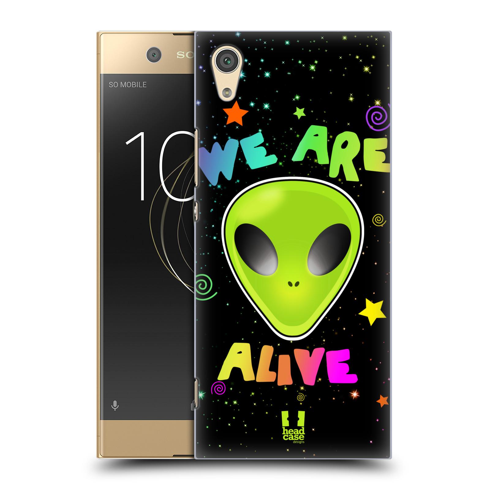 Plastové pouzdro na mobil Sony Xperia XA1 - Head Case - ALIENS ALIVE