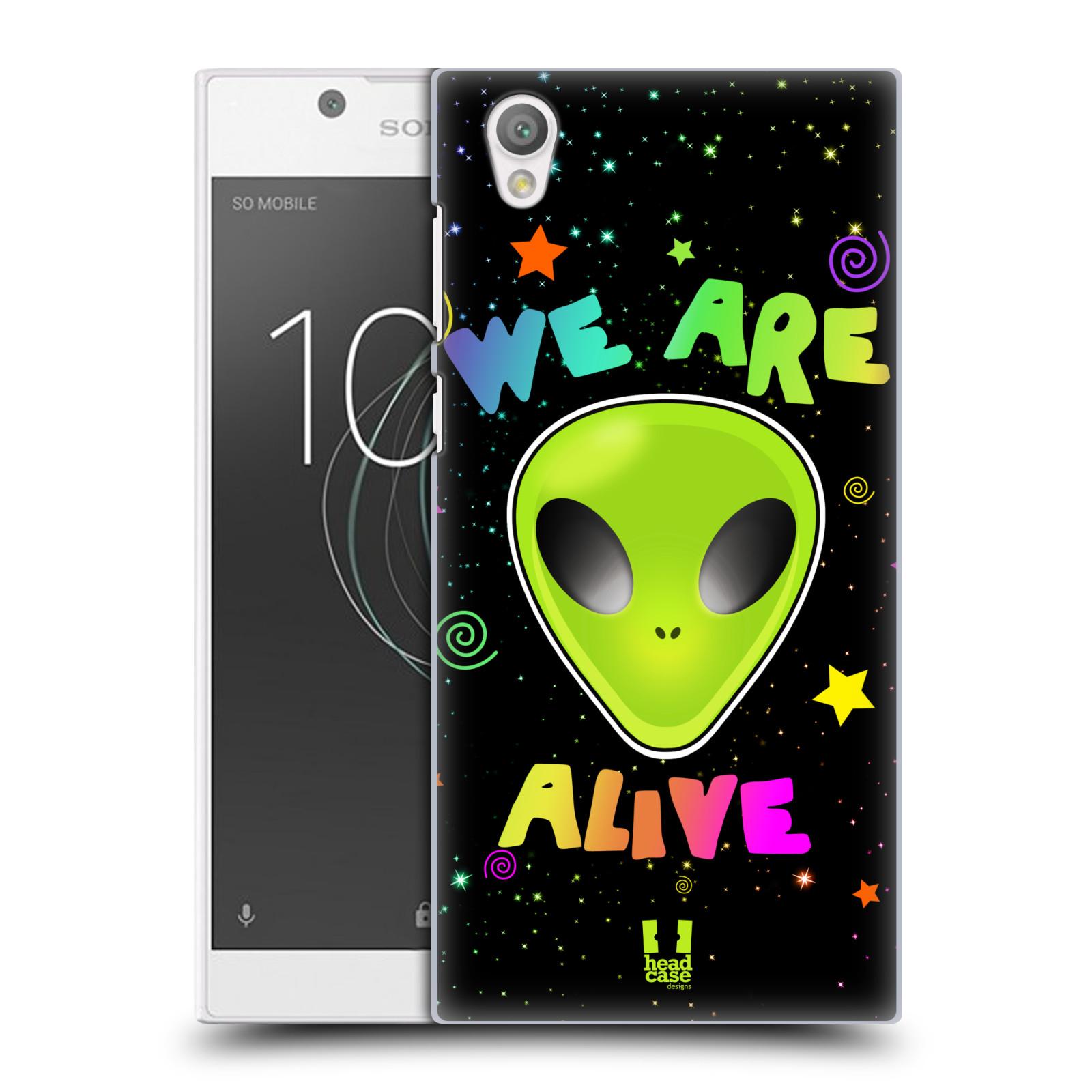 Plastové pouzdro na mobil Sony Xperia L1 - Head Case - ALIENS ALIVE