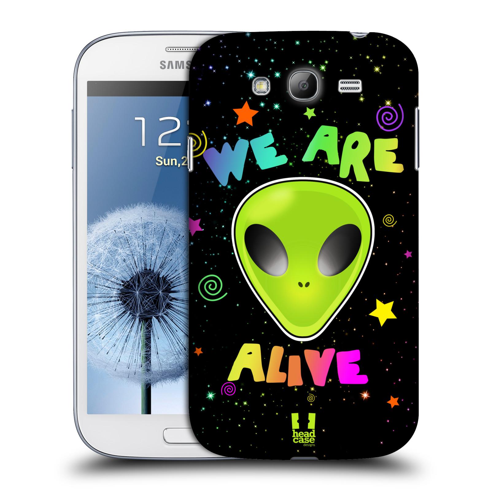 Plastové pouzdro na mobil Samsung Galaxy Grand Neo HEAD CASE ALIENS ALIVE