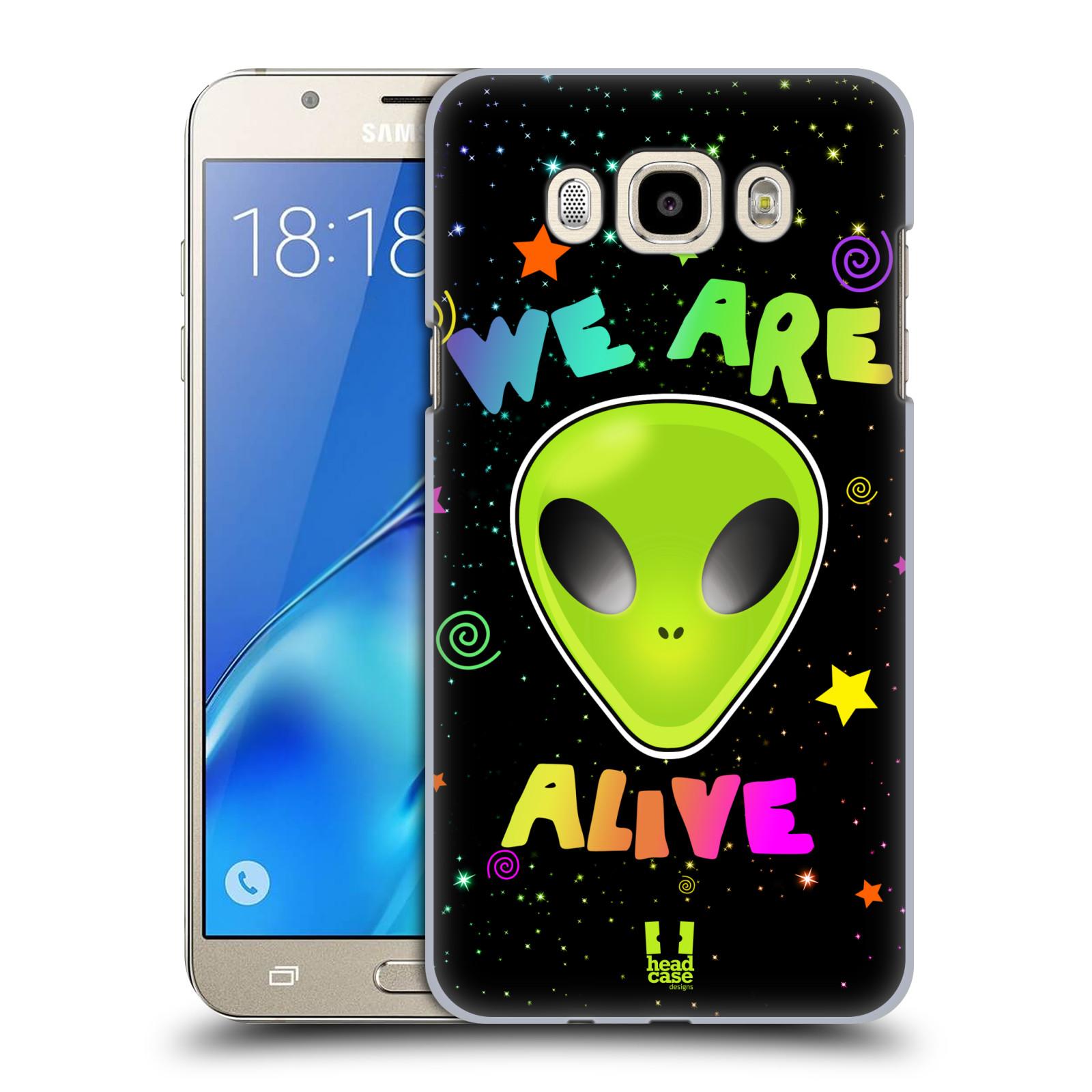 Plastové pouzdro na mobil Samsung Galaxy J7 (2016) HEAD CASE ALIENS ALIVE