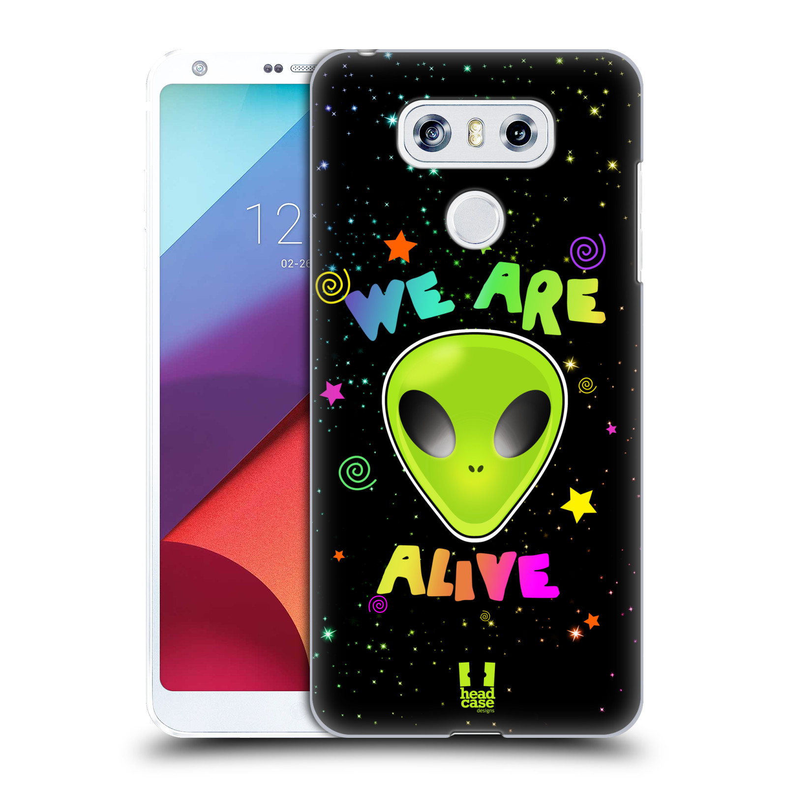 Plastové pouzdro na mobil LG G6 - Head Case ALIENS ALIVE