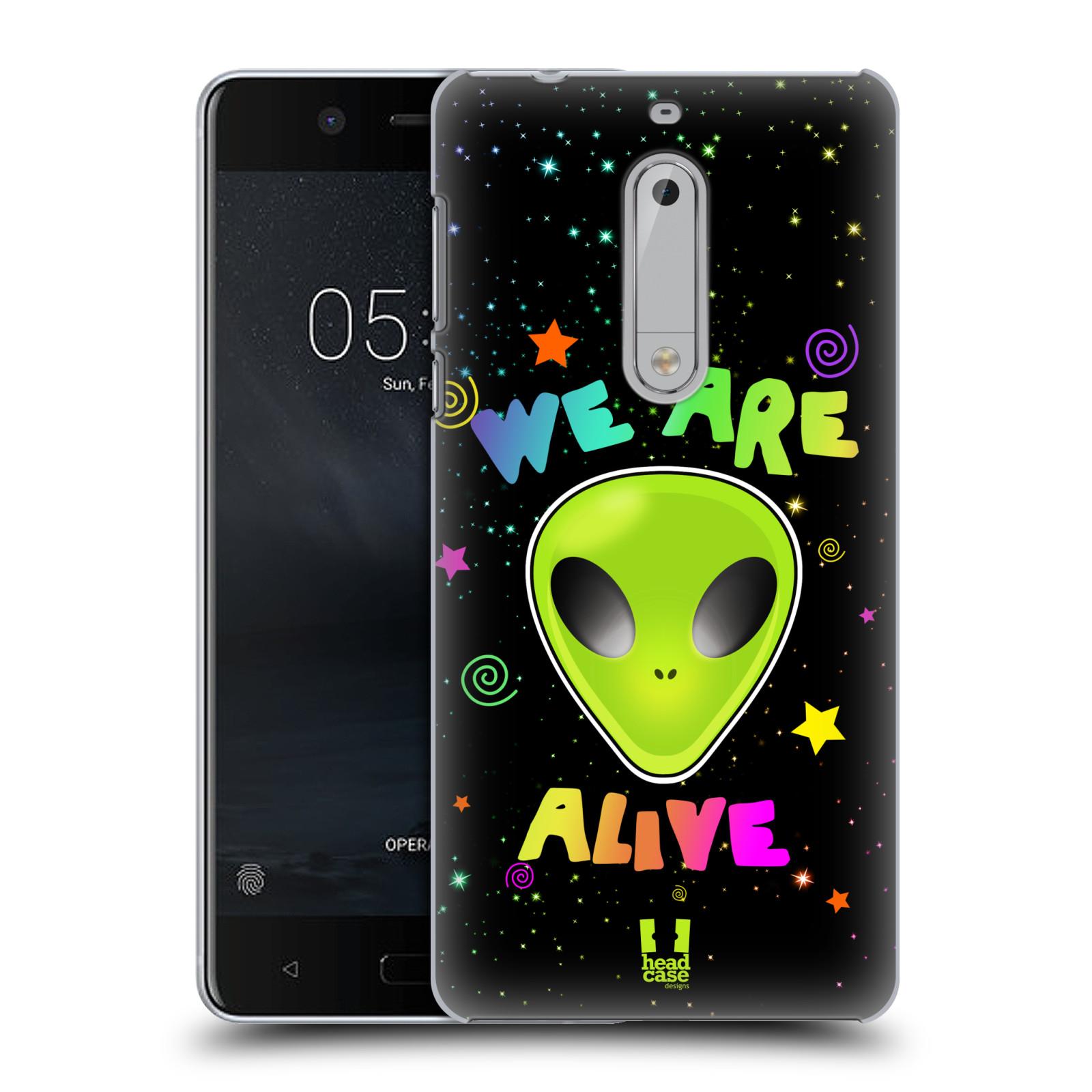 Plastové pouzdro na mobil Nokia 5 Head Case - ALIENS ALIVE