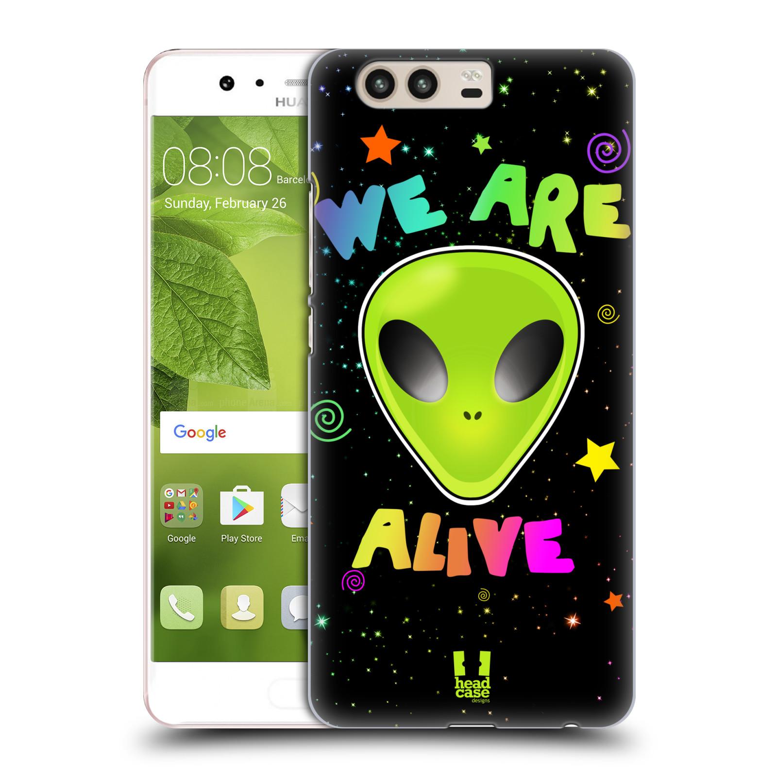 Plastové pouzdro na mobil Huawei P10 - Head Case ALIENS ALIVE