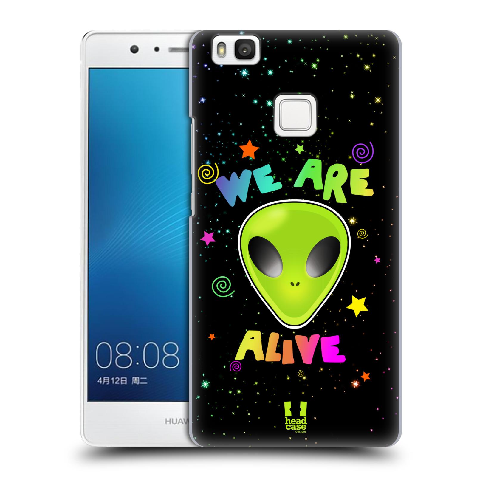 Plastové pouzdro na mobil Huawei P9 Lite HEAD CASE ALIENS ALIVE