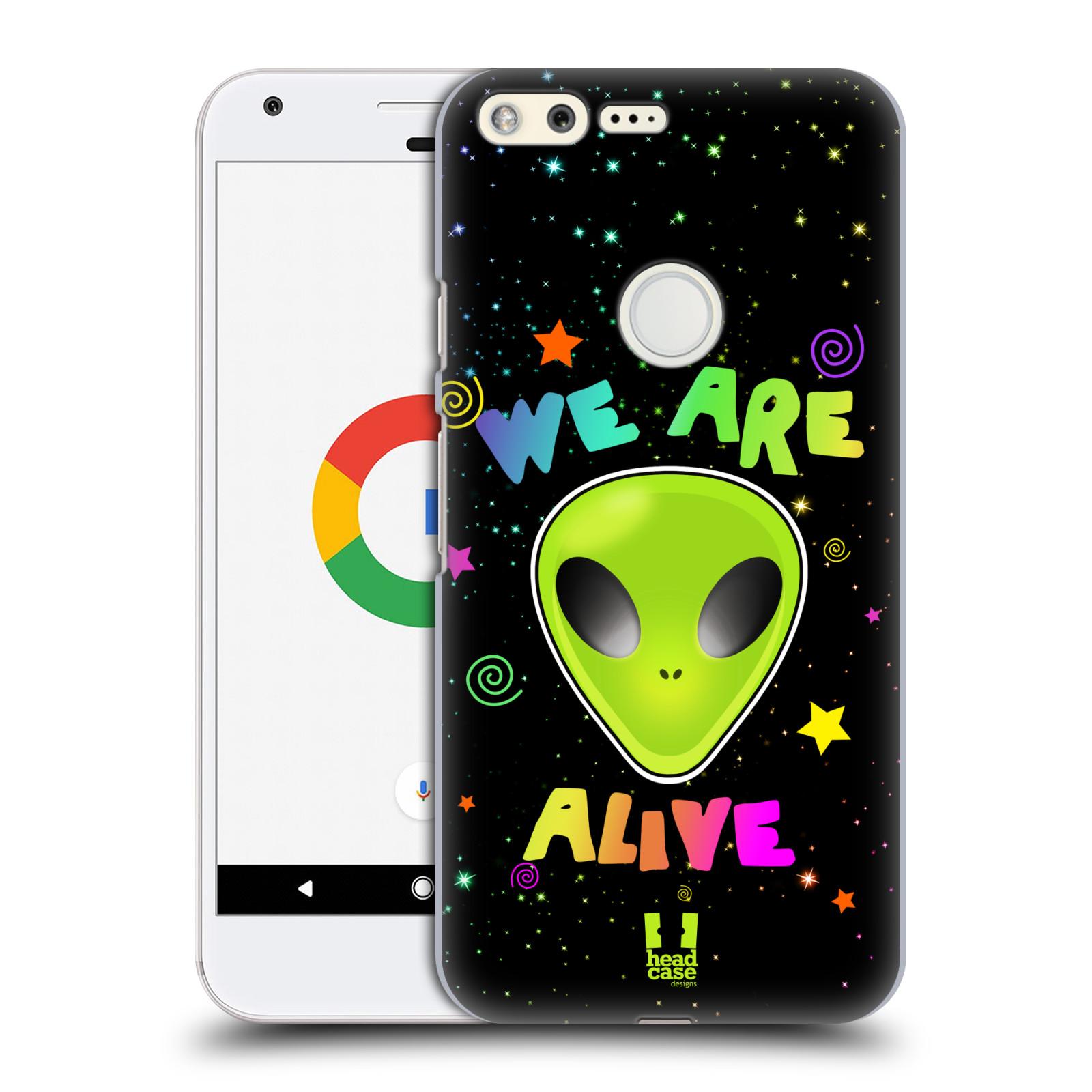 Plastové pouzdro na mobil Google Pixel HEAD CASE ALIENS ALIVE