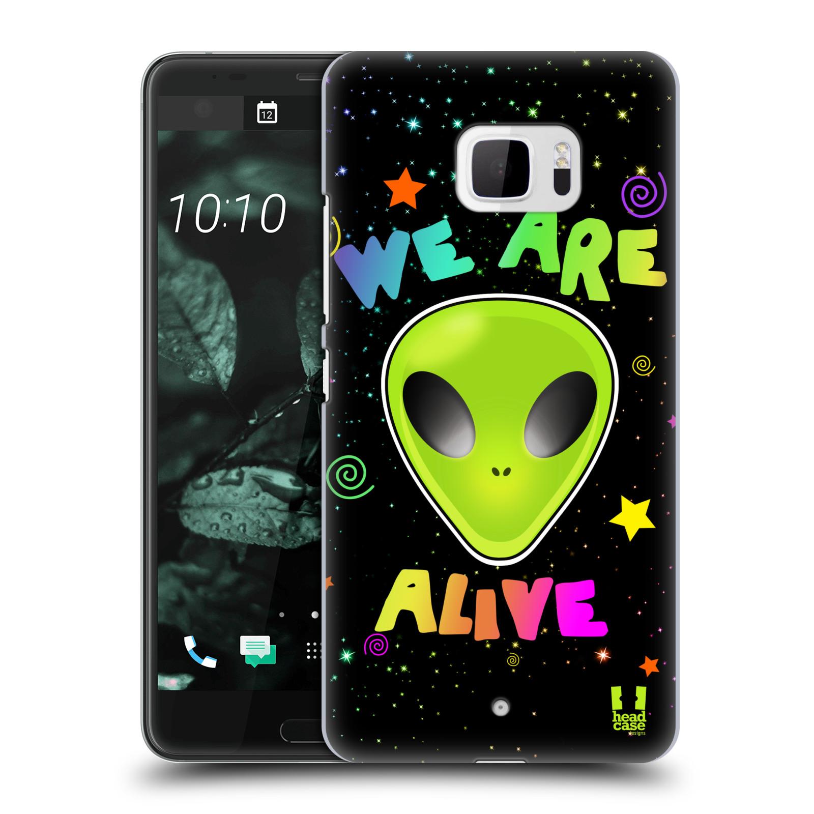 Plastové pouzdro na mobil HTC U Ultra Head Case - ALIENS ALIVE