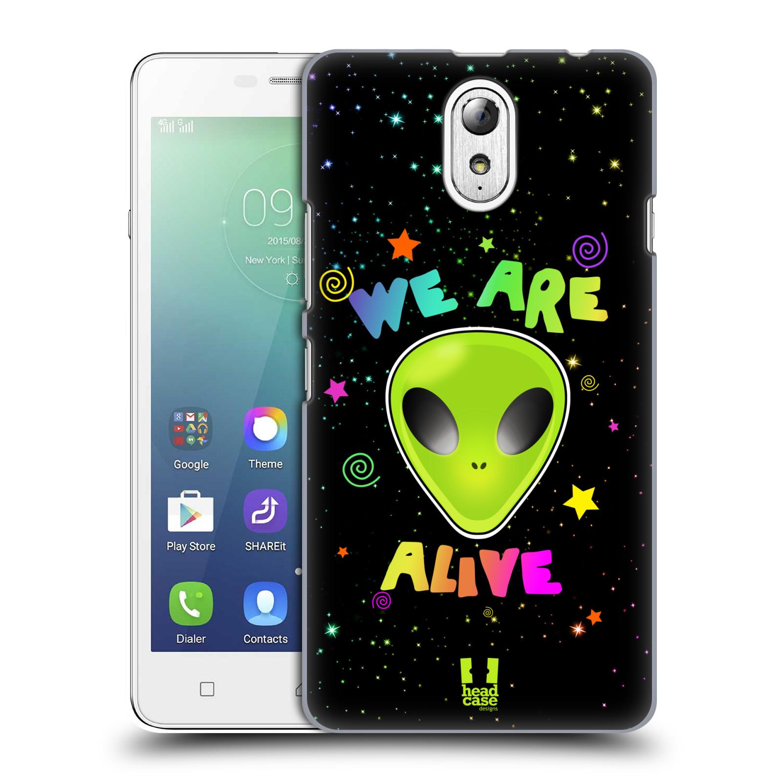 Plastové pouzdro na mobil Lenovo Vibe P1m HEAD CASE ALIENS ALIVE