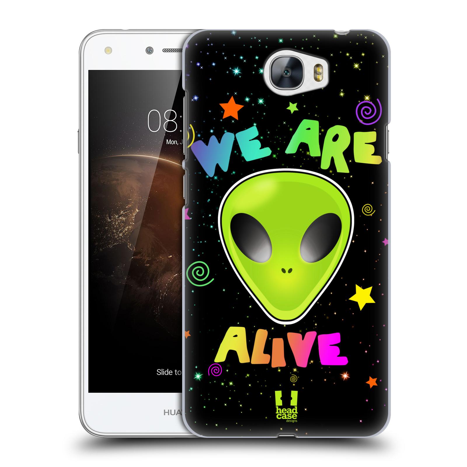 Plastové pouzdro na mobil Huawei Y5 II HEAD CASE ALIENS ALIVE
