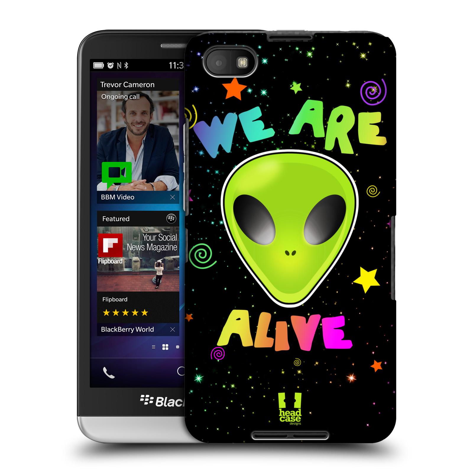 Plastové pouzdro na mobil Blackberry Z30 HEAD CASE ALIENS ALIVE (Kryt či obal na mobilní telefon Blackberry Z30)