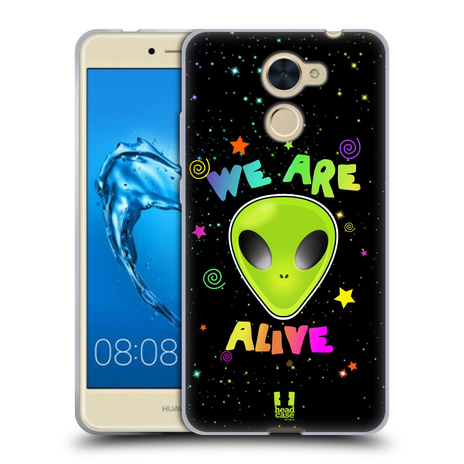 Silikonové pouzdro na mobil Huawei Y7 - Head Case - ALIENS ALIVE