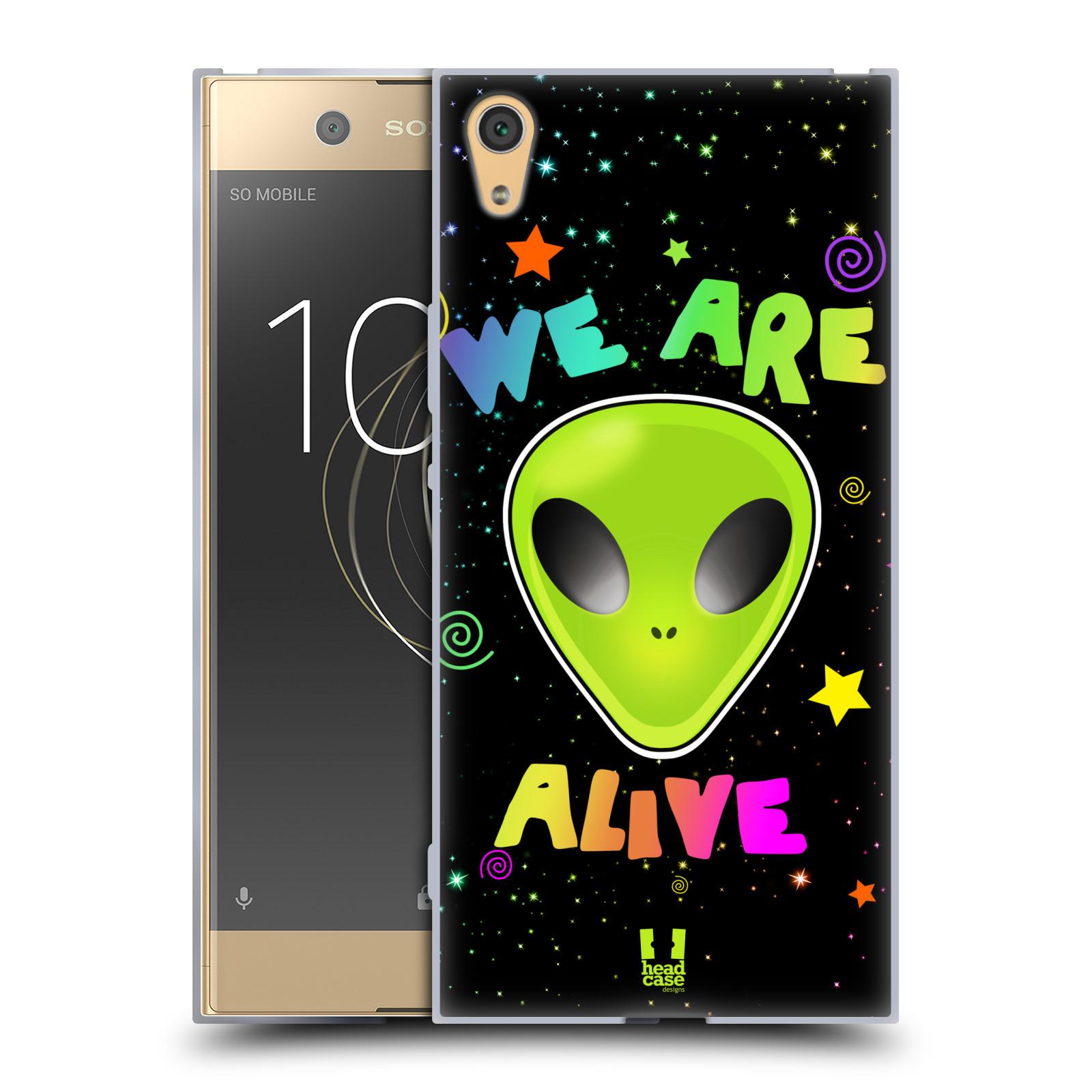 Silikonové pouzdro na mobil Sony Xperia XA1 Ultra - Head Case - ALIENS ALIVE