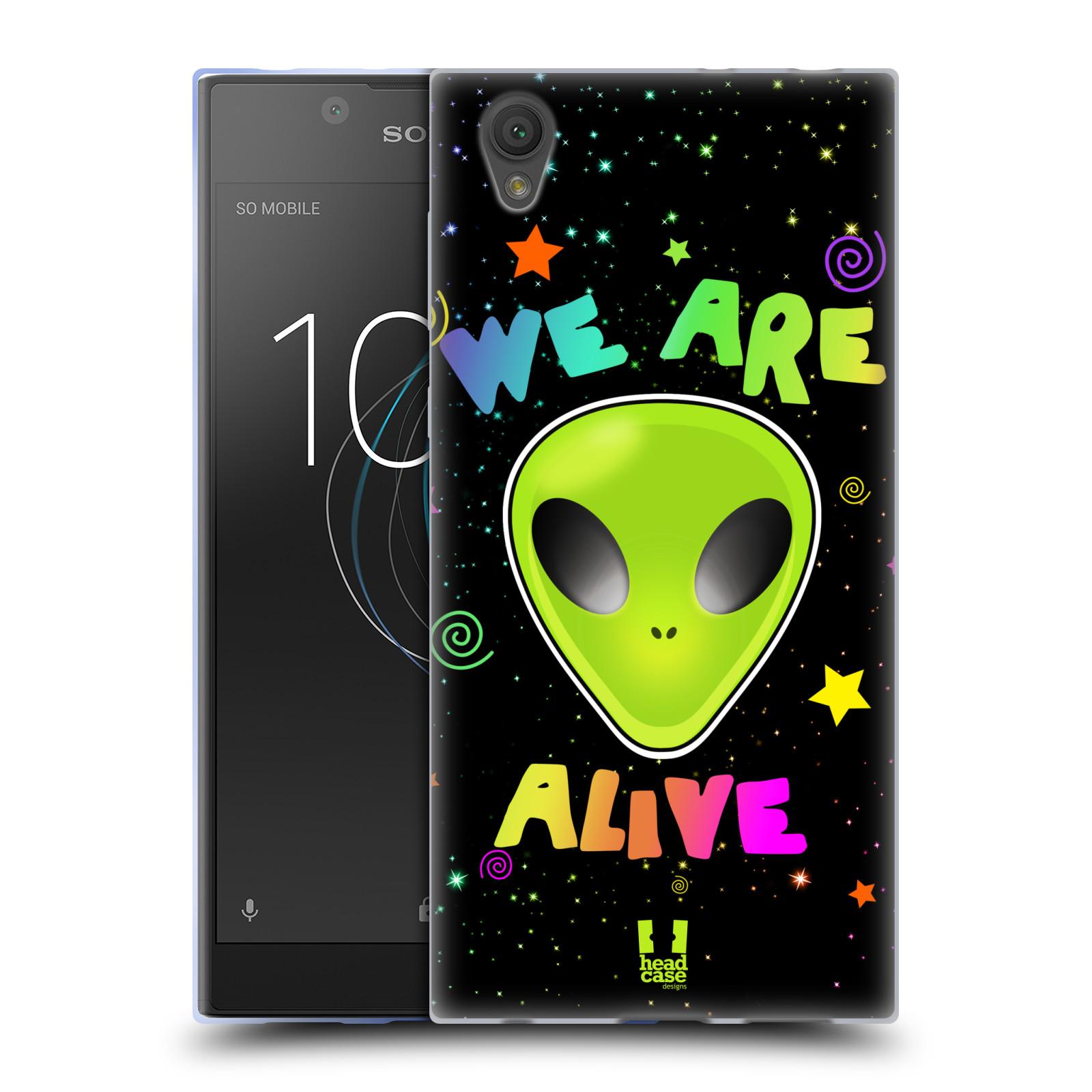 Silikonové pouzdro na mobil Sony Xperia L1 - Head Case - ALIENS ALIVE