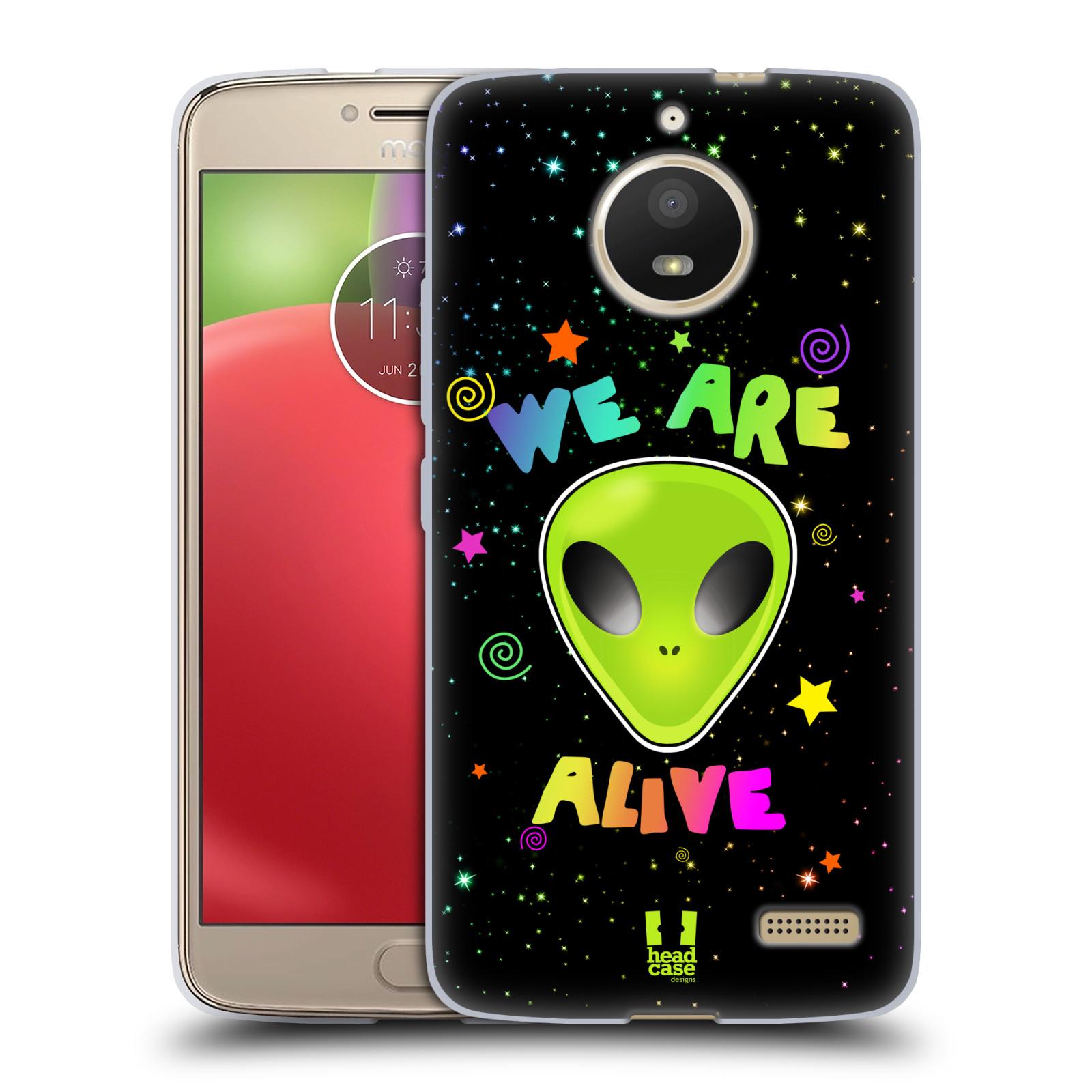 Silikonové pouzdro na mobil Lenovo Moto E4 - Head Case - ALIENS ALIVE
