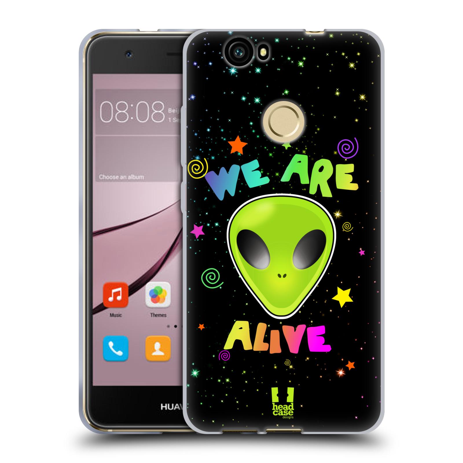 Silikonové pouzdro na mobil Huawei Nova - Head Case - ALIENS ALIVE