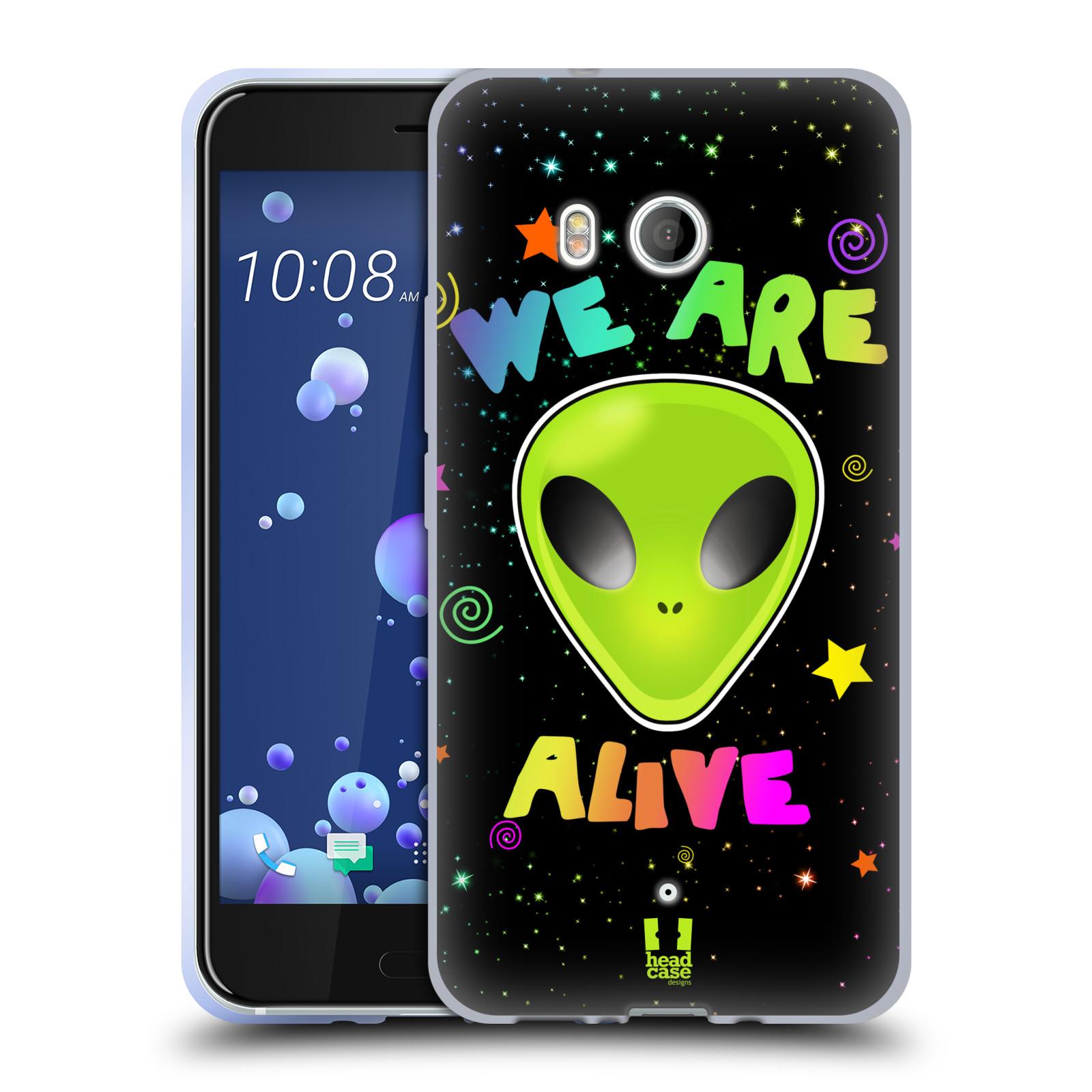 Silikonové pouzdro na mobil HTC U11 - Head Case - ALIENS ALIVE