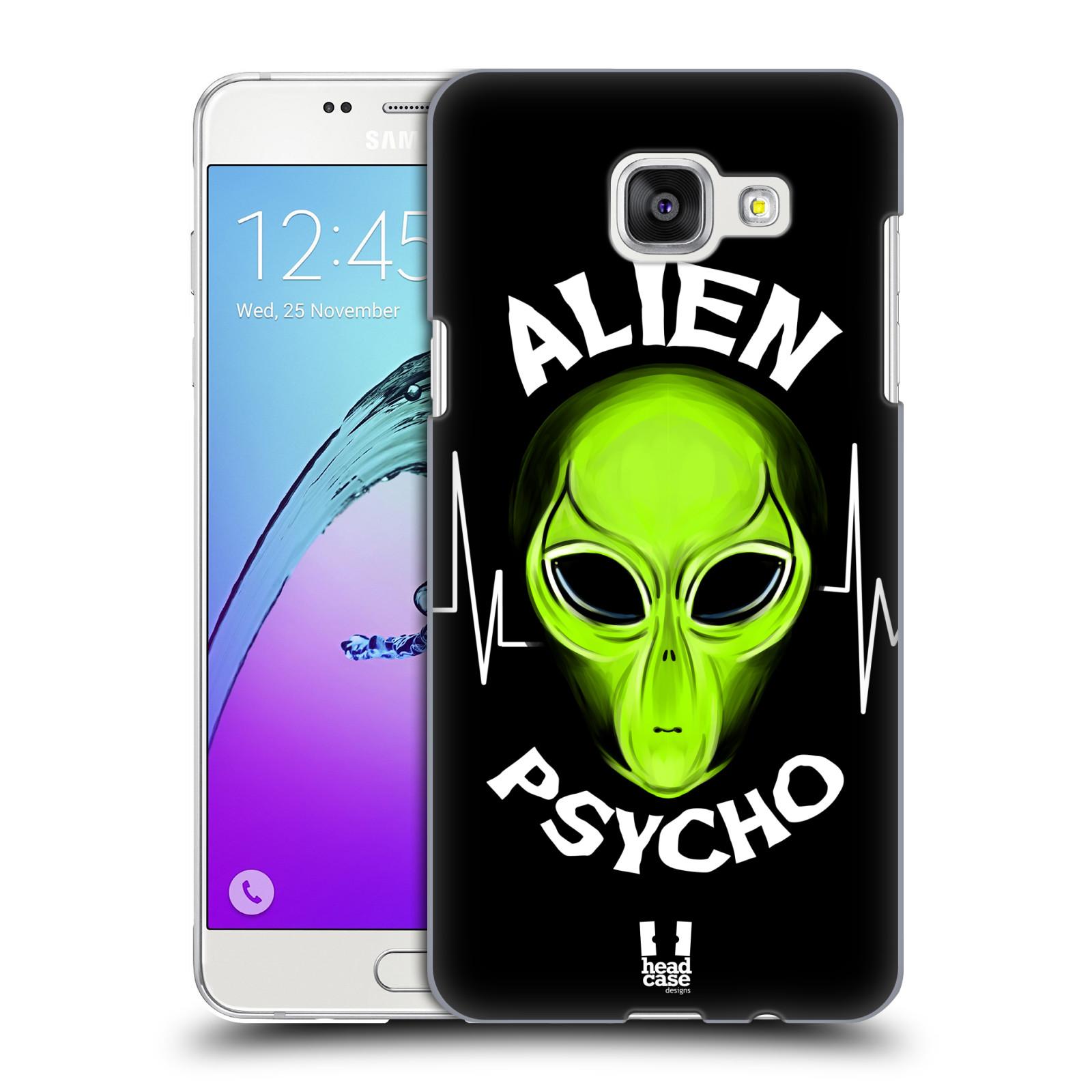 Plastové pouzdro na mobil Samsung Galaxy A5 (2016) HEAD CASE ALIENS PSYCHO