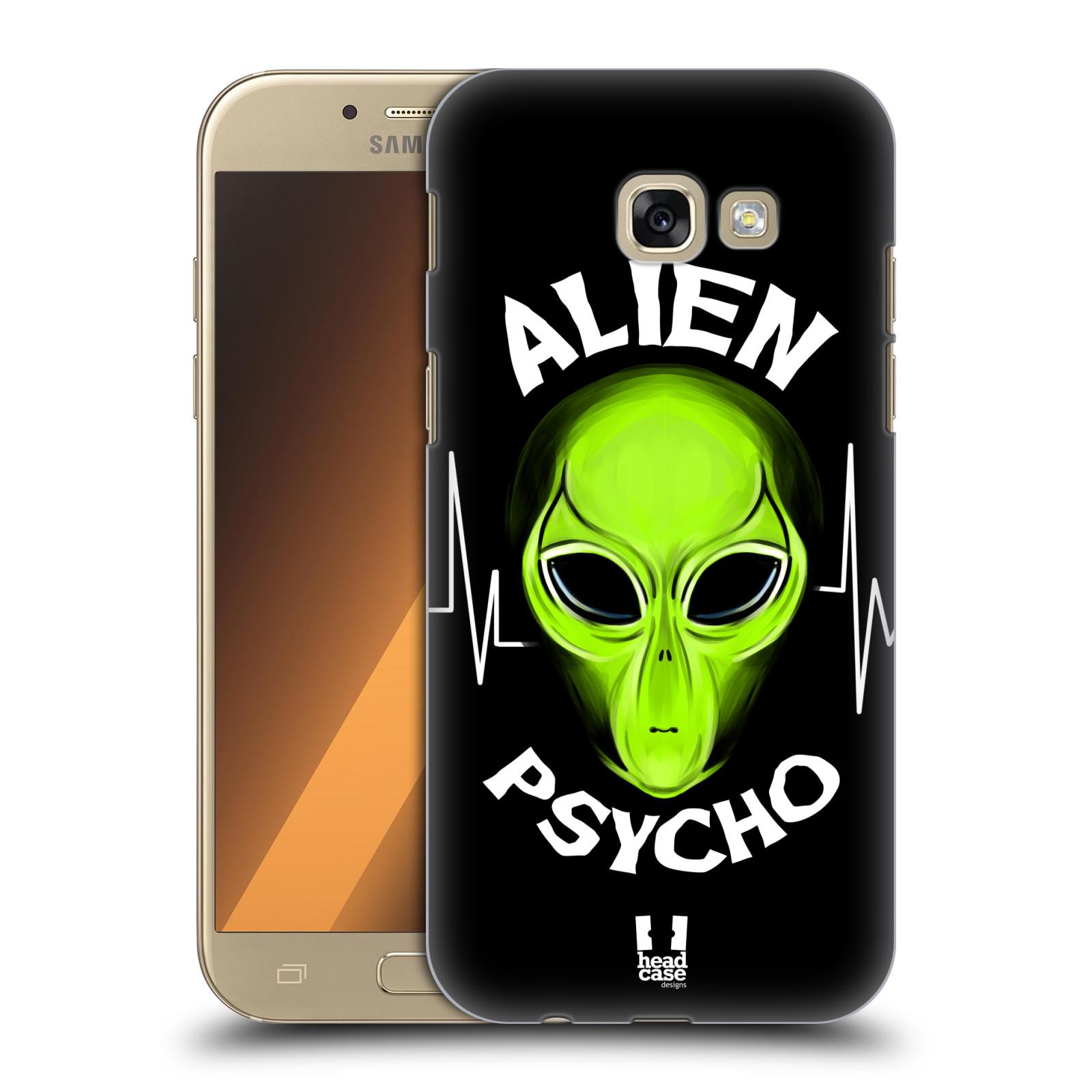 Plastové pouzdro na mobil Samsung Galaxy A5 (2017) HEAD CASE ALIENS PSYCHO