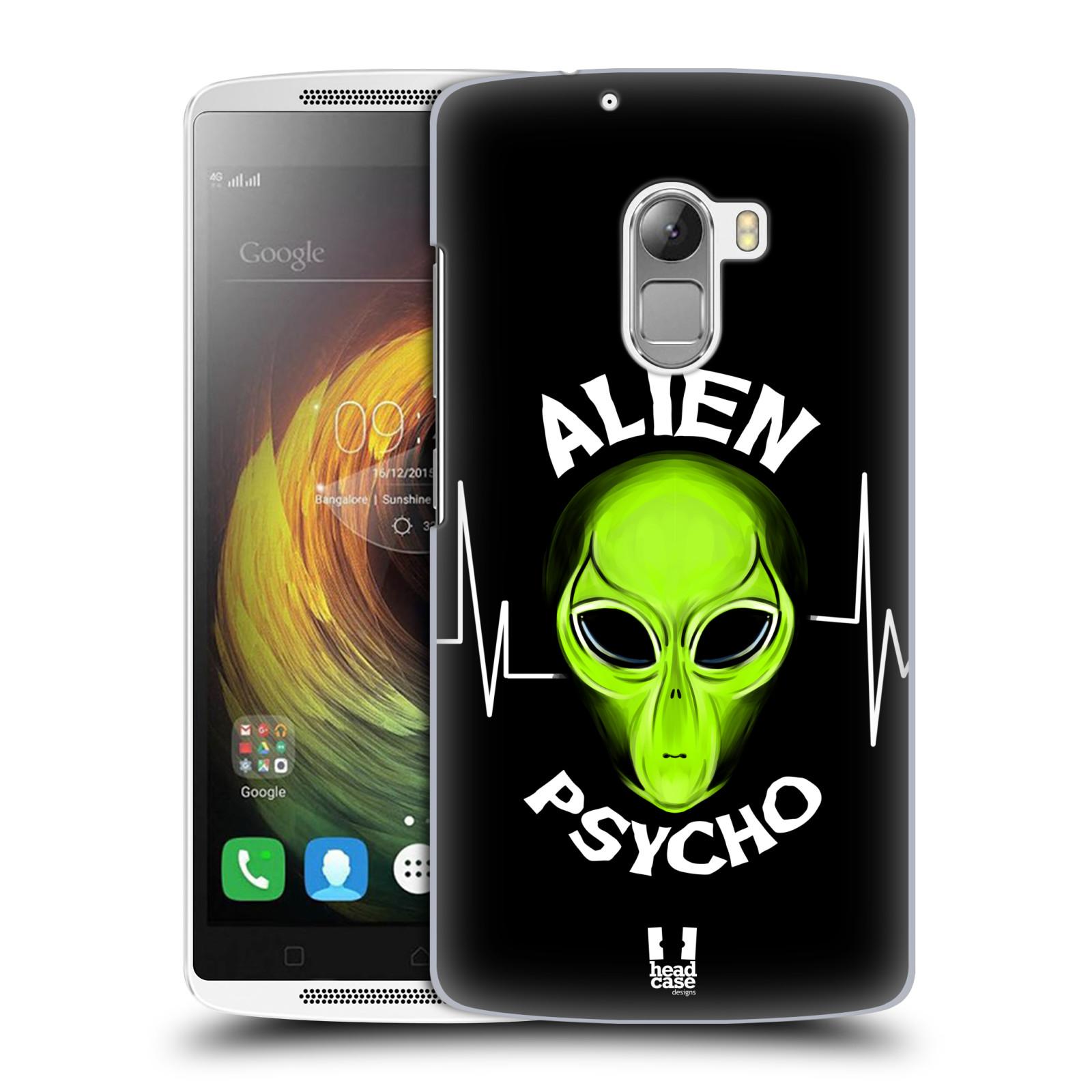 Plastové pouzdro na mobil Lenovo A7010 HEAD CASE ALIENS PSYCHO