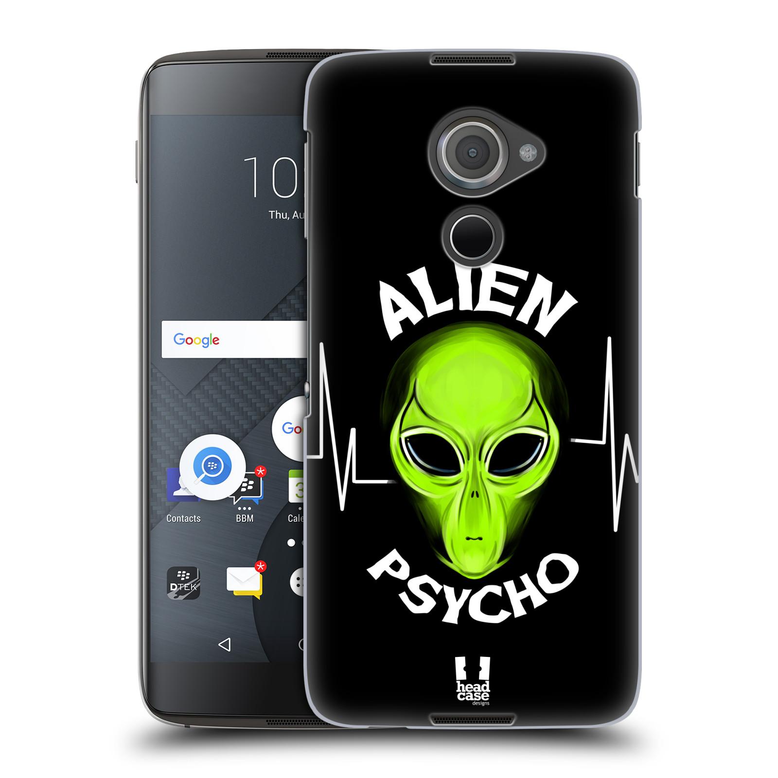 Plastové pouzdro na mobil Blackberry DTEK60 (Argon) - Head Case ALIENS PSYCHO