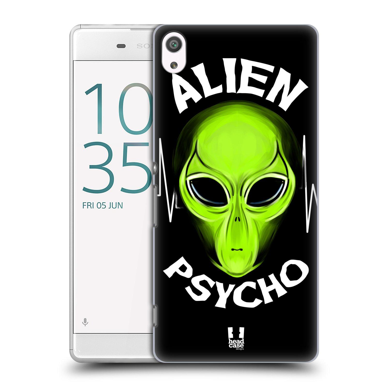 Plastové pouzdro na mobil Sony Xperia XA Ultra HEAD CASE ALIENS PSYCHO