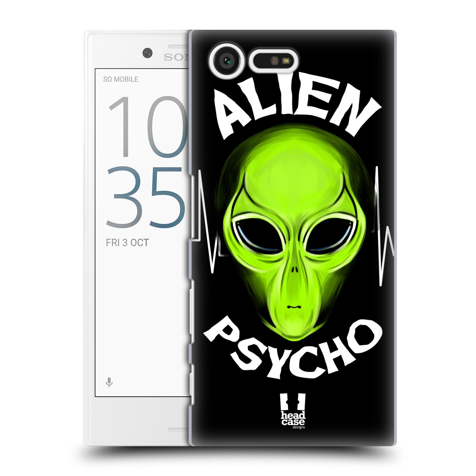 Plastové pouzdro na mobil Sony Xperia X Compact HEAD CASE ALIENS PSYCHO