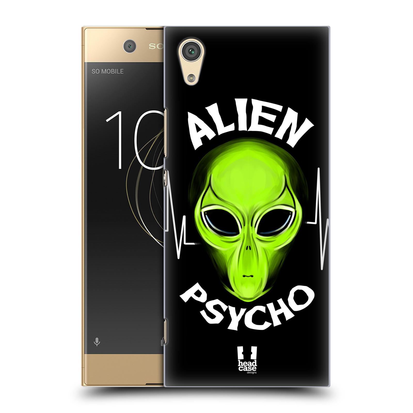 Plastové pouzdro na mobil Sony Xperia XA1 - Head Case - ALIENS PSYCHO
