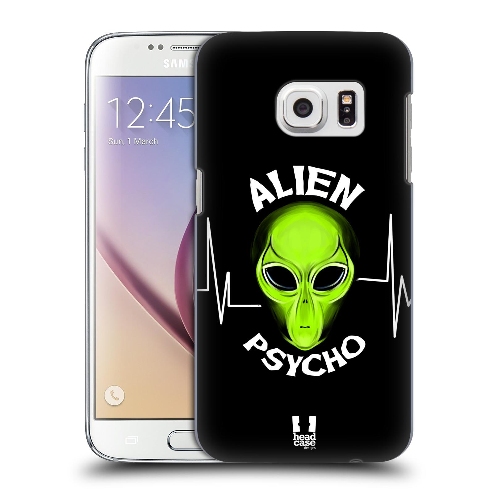 Plastové pouzdro na mobil Samsung Galaxy S7 HEAD CASE ALIENS PSYCHO