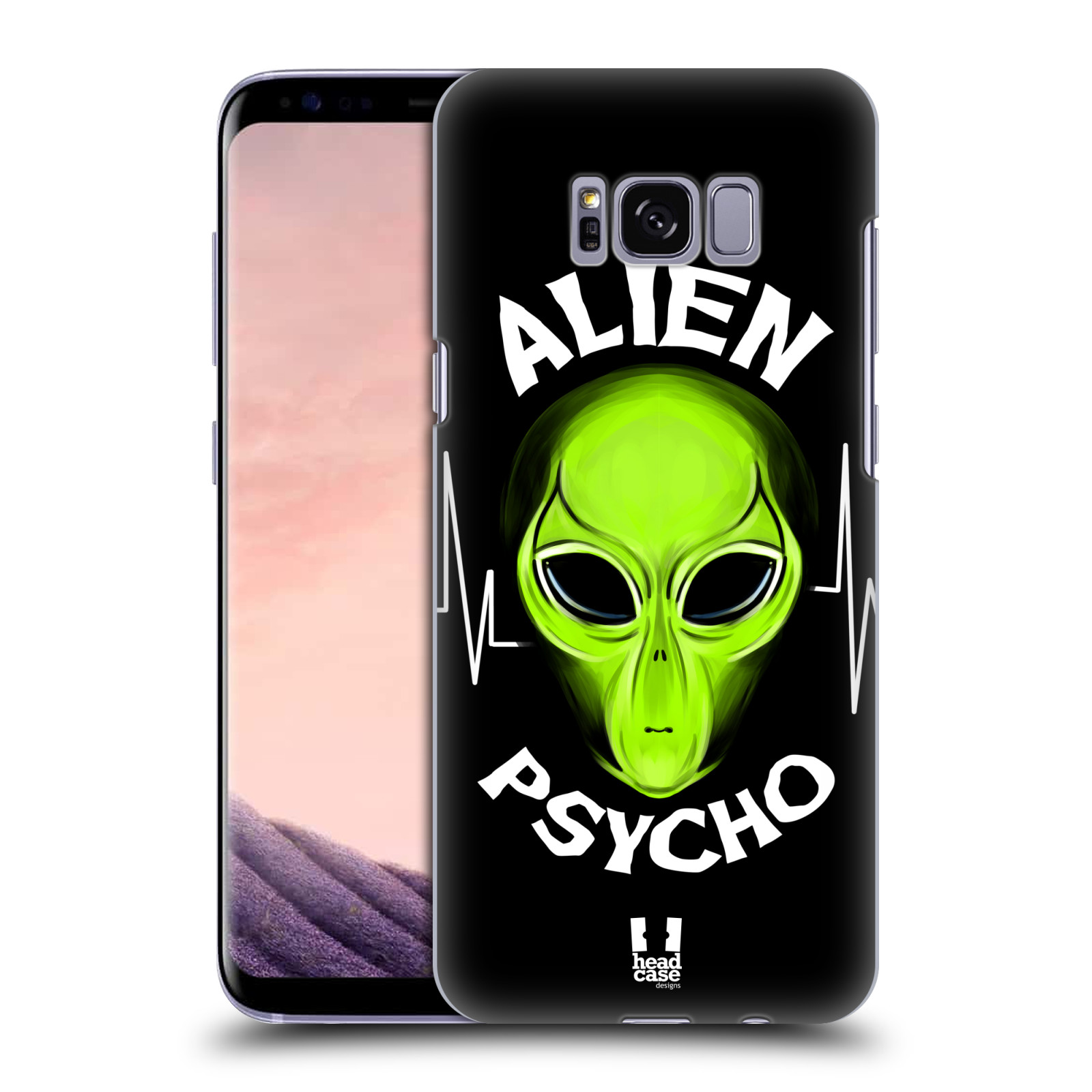Plastové pouzdro na mobil Samsung Galaxy S8 Head Case ALIENS PSYCHO