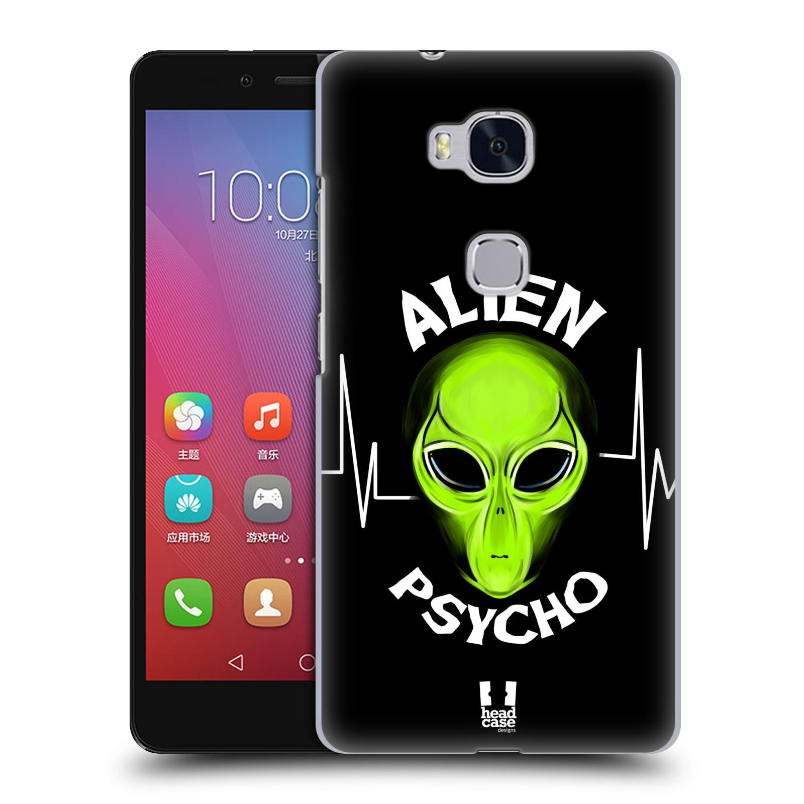 Plastové pouzdro na mobil Honor 5X HEAD CASE ALIENS PSYCHO