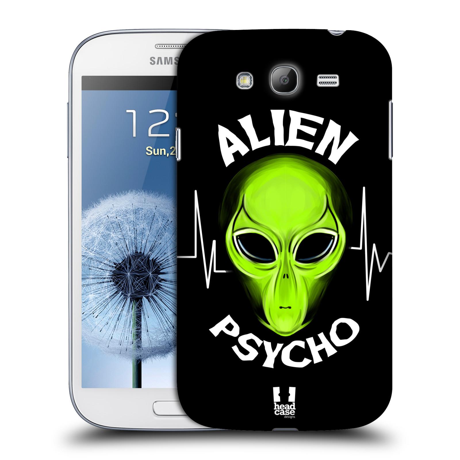 Plastové pouzdro na mobil Samsung Galaxy Grand Neo Plus HEAD CASE ALIENS PSYCHO