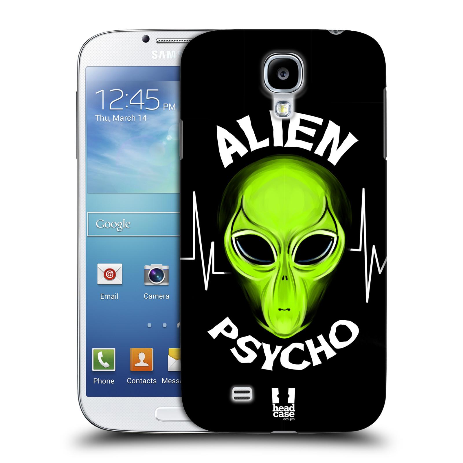Plastové pouzdro na mobil Samsung Galaxy S4 HEAD CASE ALIENS PSYCHO (Kryt či obal na mobilní telefon Samsung Galaxy S4 GT-i9505 / i9500)