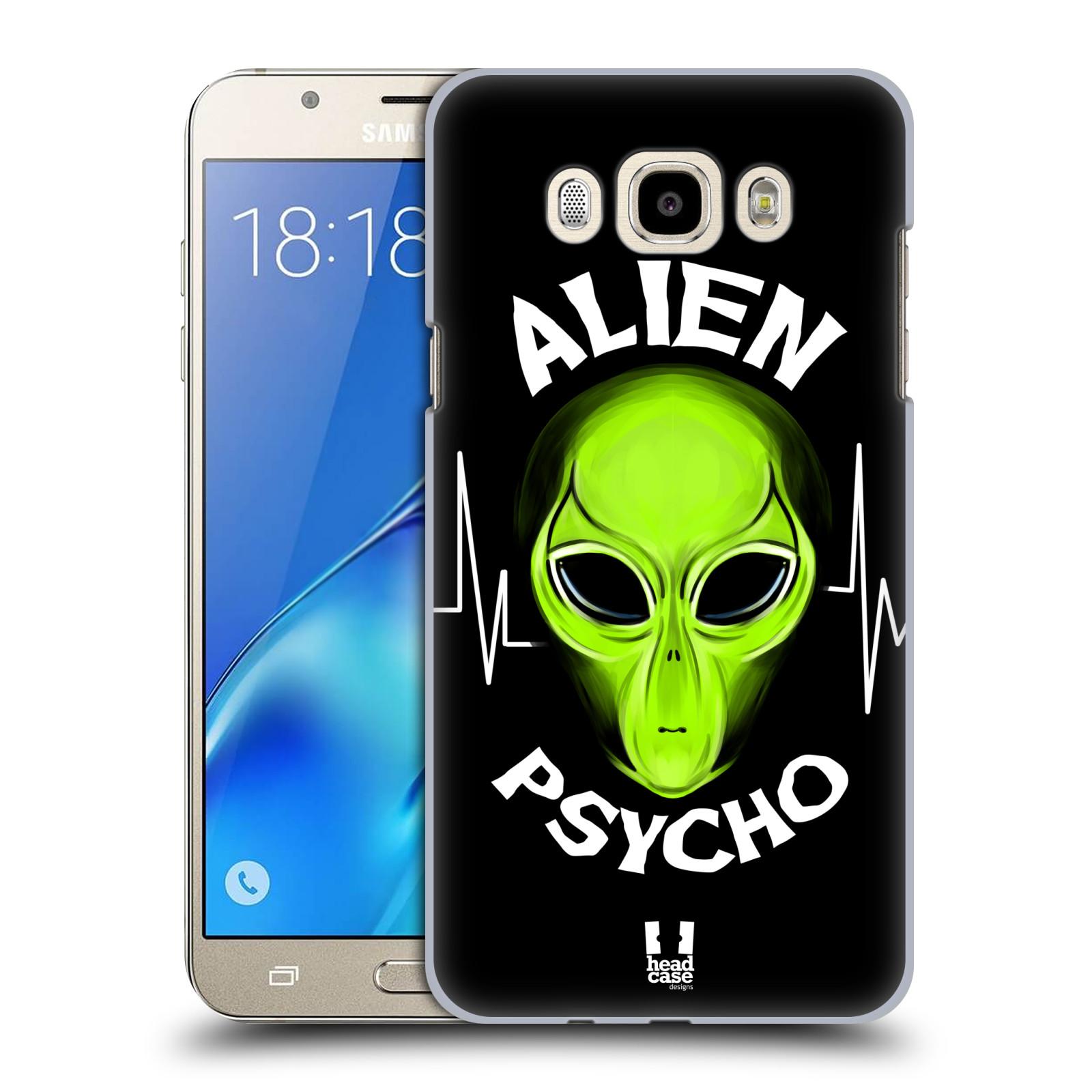 Plastové pouzdro na mobil Samsung Galaxy J7 (2016) HEAD CASE ALIENS PSYCHO