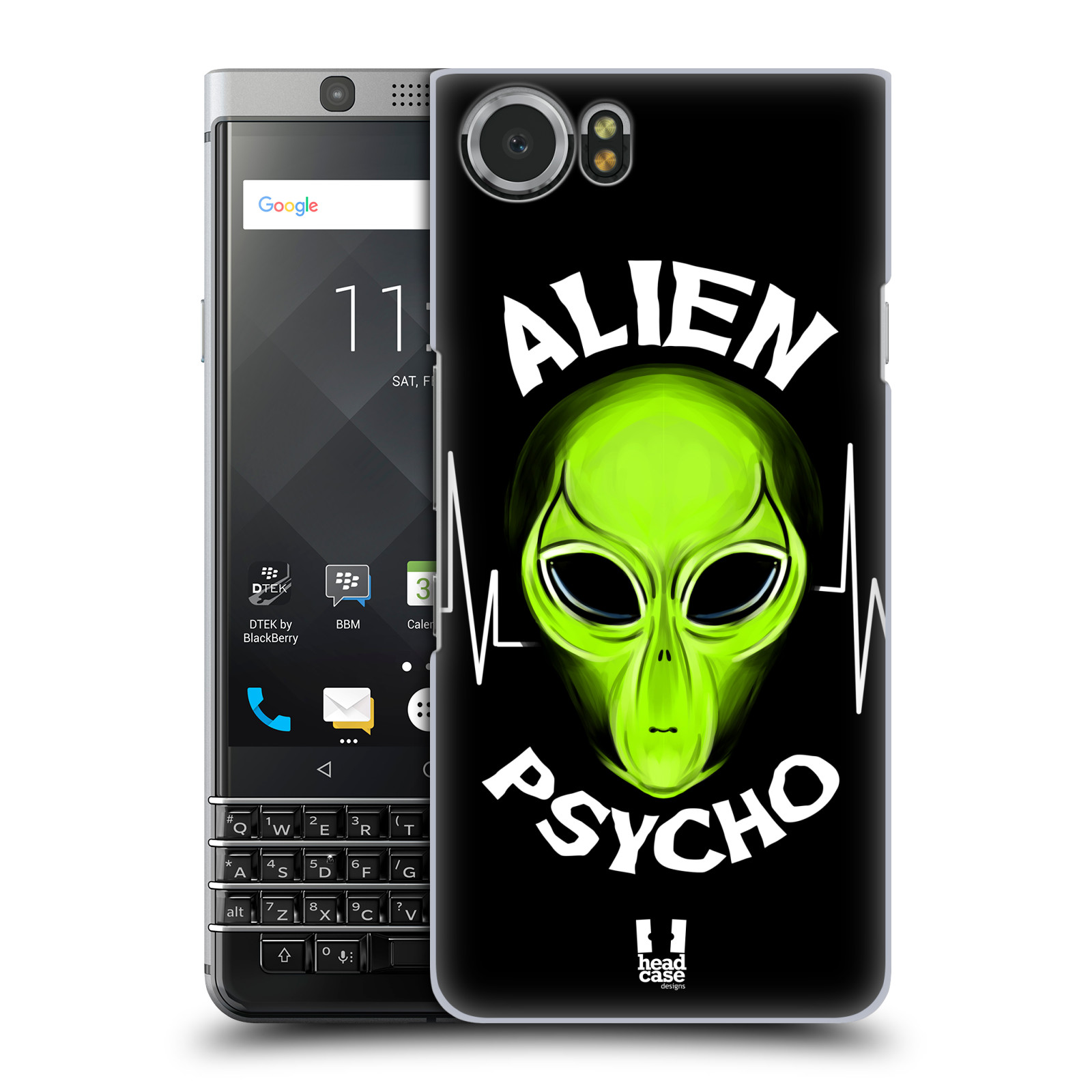 Plastové pouzdro na mobil BlackBerry KEYone - Head Case - ALIENS PSYCHO