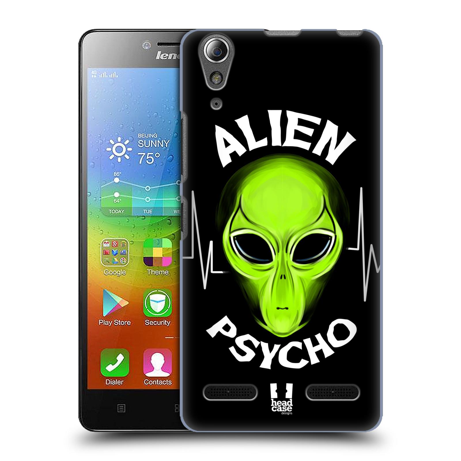 Plastové pouzdro na mobil Lenovo A6000 HEAD CASE ALIENS PSYCHO