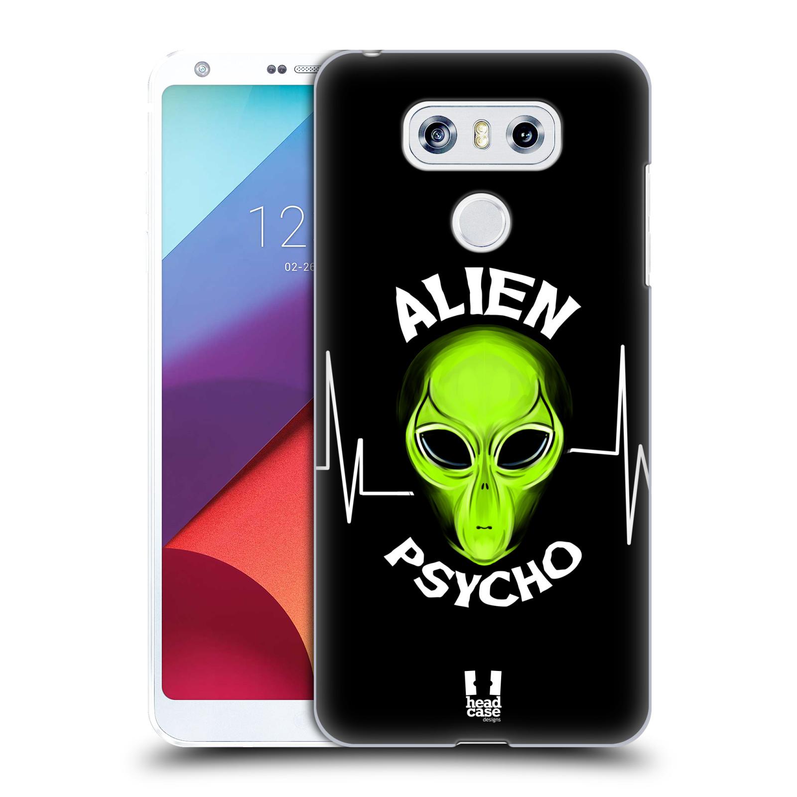 Plastové pouzdro na mobil LG G6 - Head Case ALIENS PSYCHO