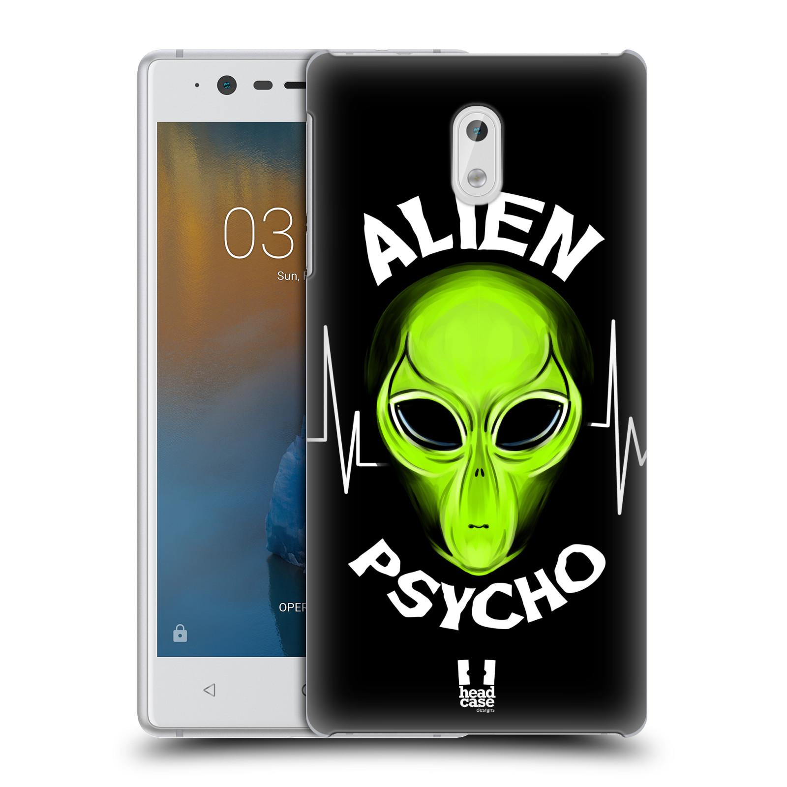 Plastové pouzdro na mobil Nokia 3 Head Case - ALIENS PSYCHO