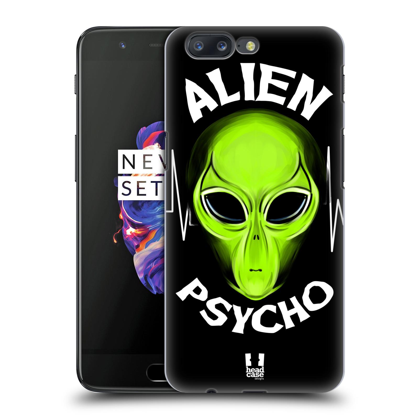 Plastové pouzdro na mobil OnePlus 5 - Head Case - ALIENS PSYCHO