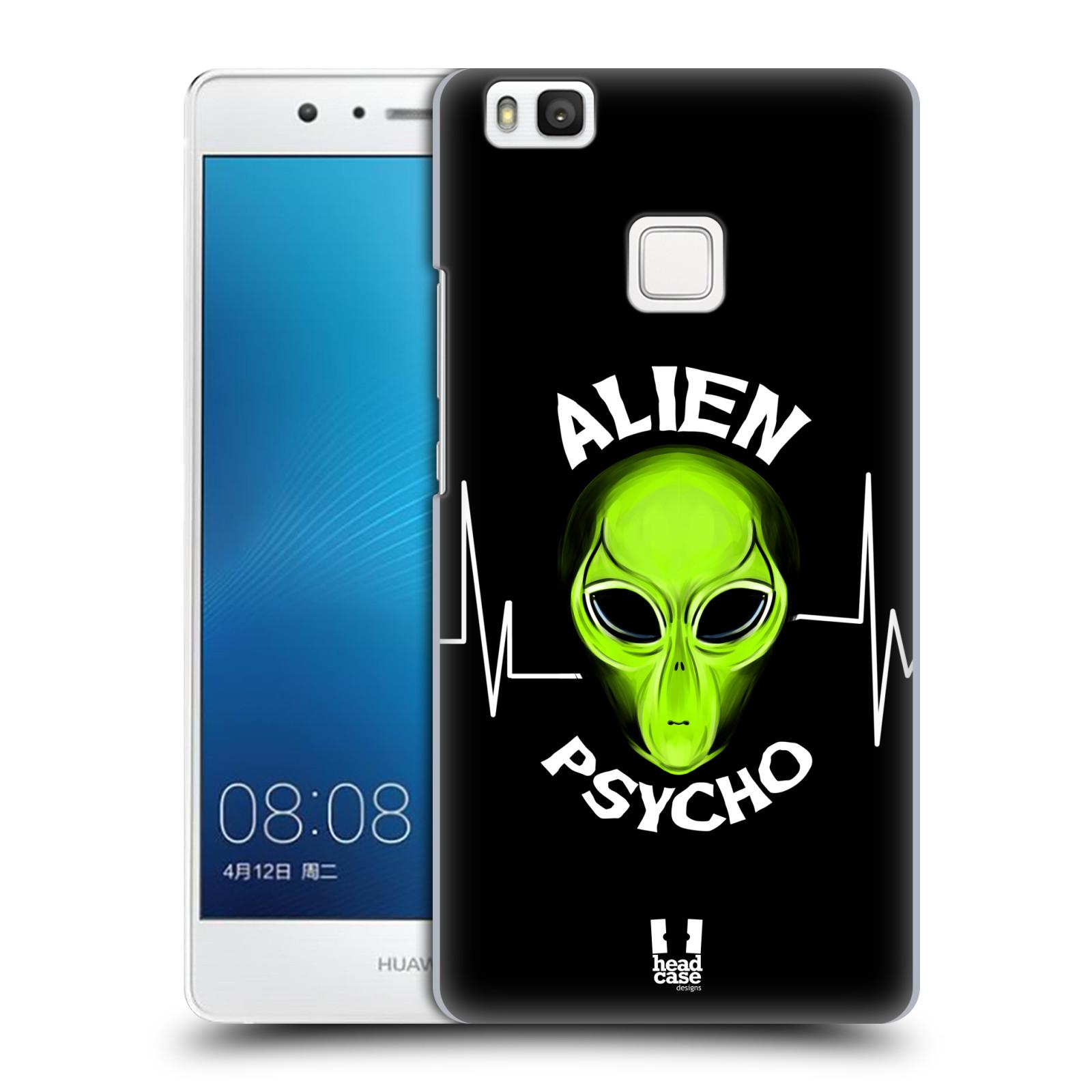Plastové pouzdro na mobil Huawei P9 Lite HEAD CASE ALIENS PSYCHO